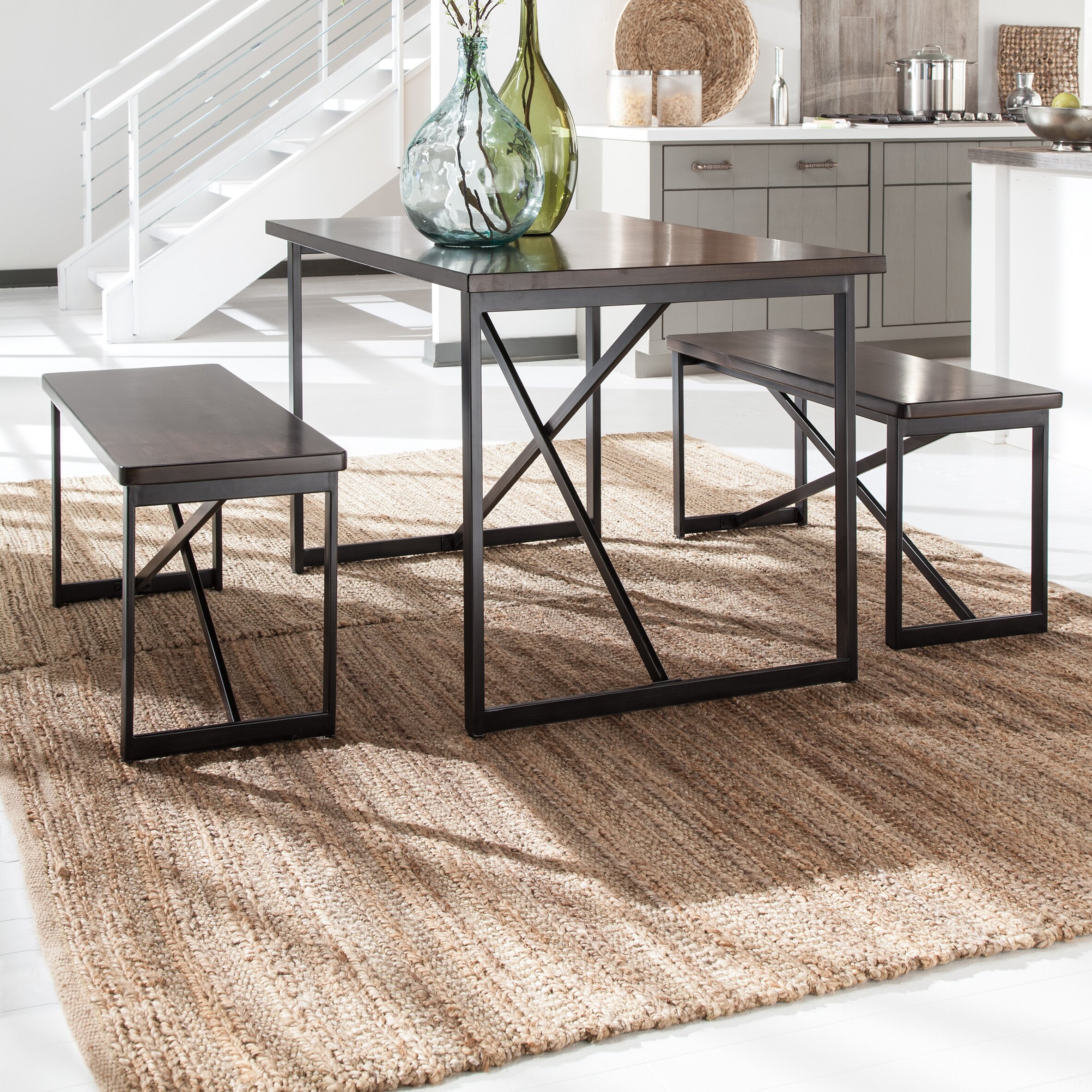 Signature design by ashley joring 3 piece dining set for 2 piece dining room set