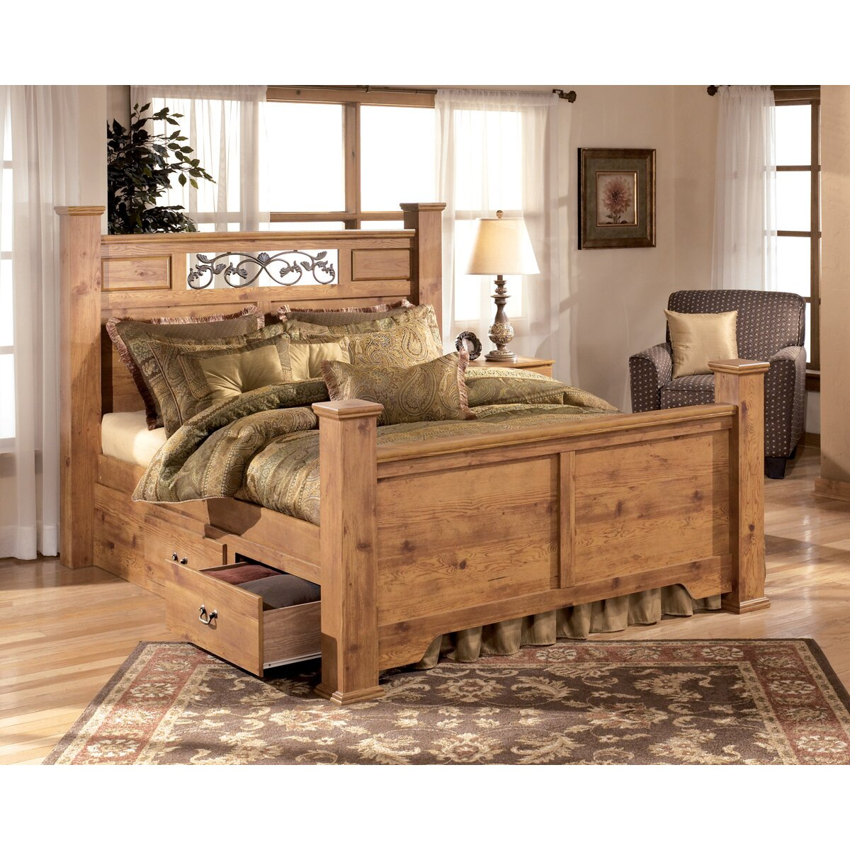 Signature Design By Ashley Atlee Panel Customizable Bedroom Set Reviews