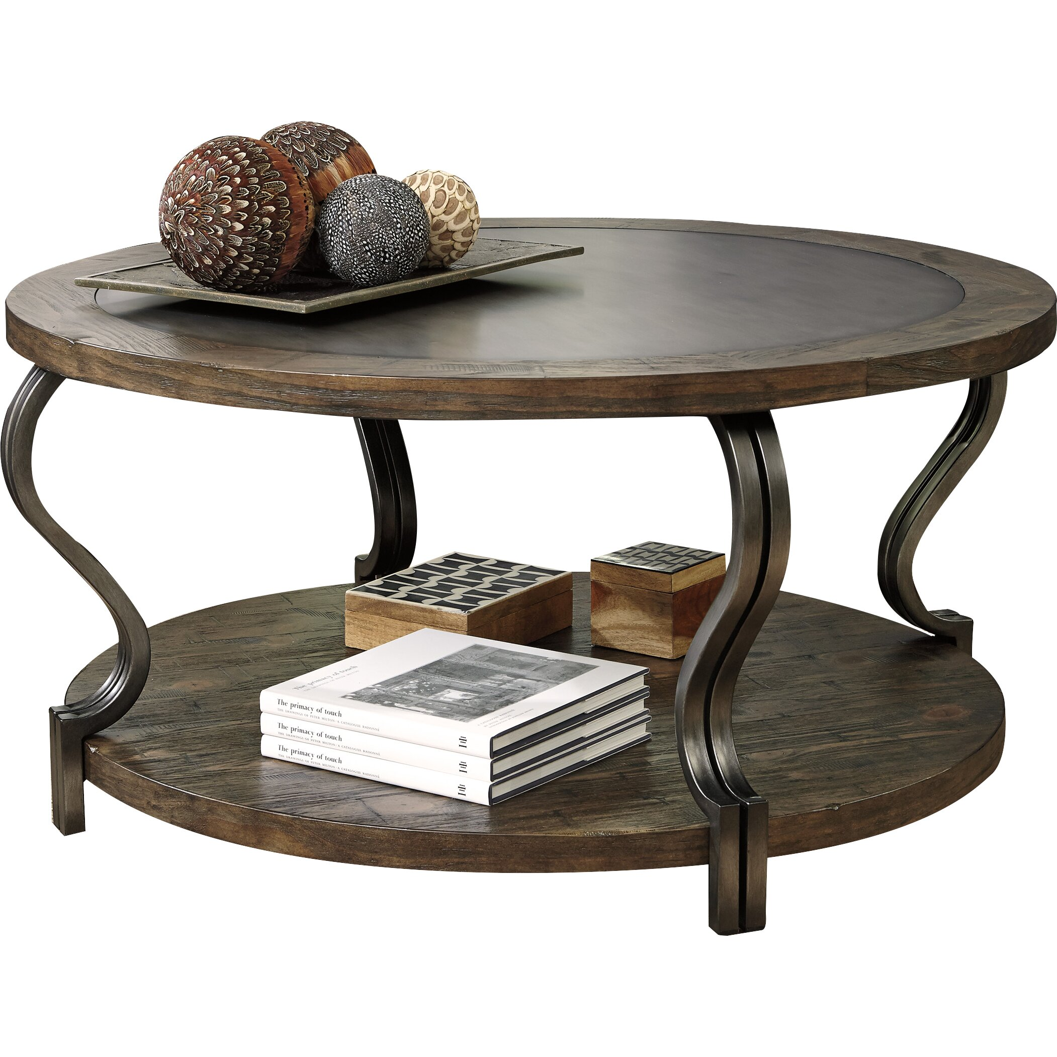Signature Design By Ashley Volanta Coffee Table Reviews Wayfair
