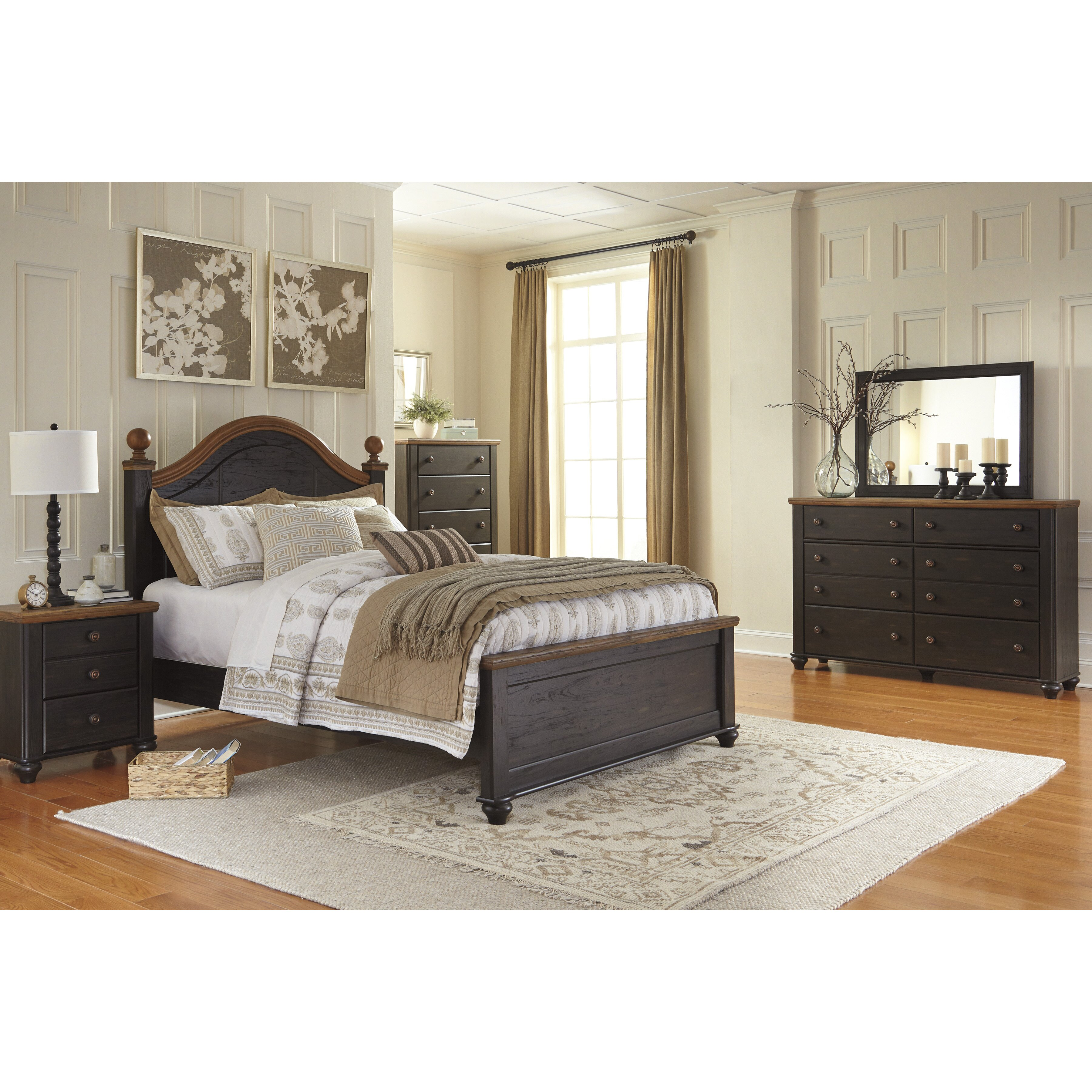 Signature Design By Ashley Panel Customizable Bedroom Set Reviews Wayfair