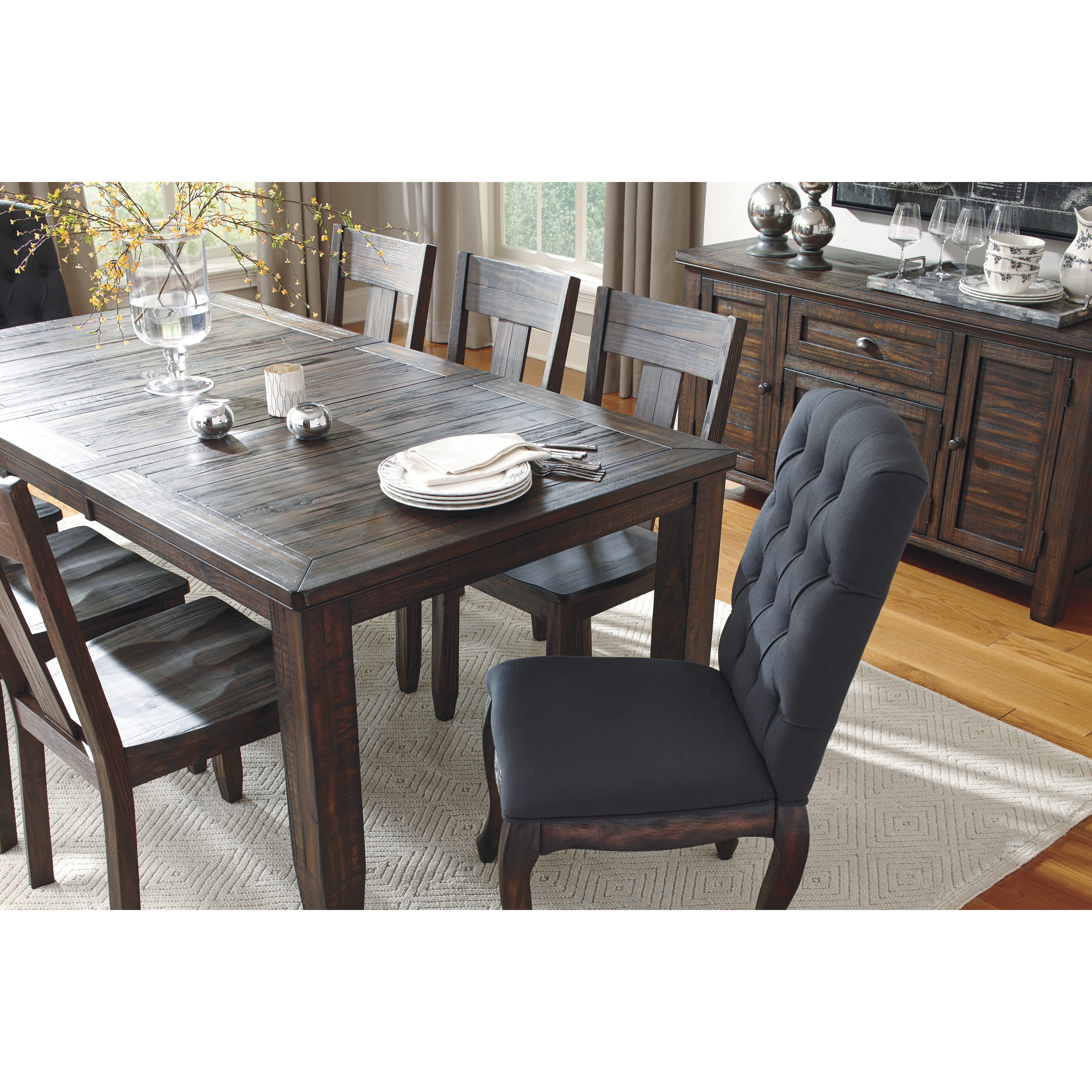 Signature Design By Ashley Trudell 7 Piece Dining Set Amp Reviews Wayfair