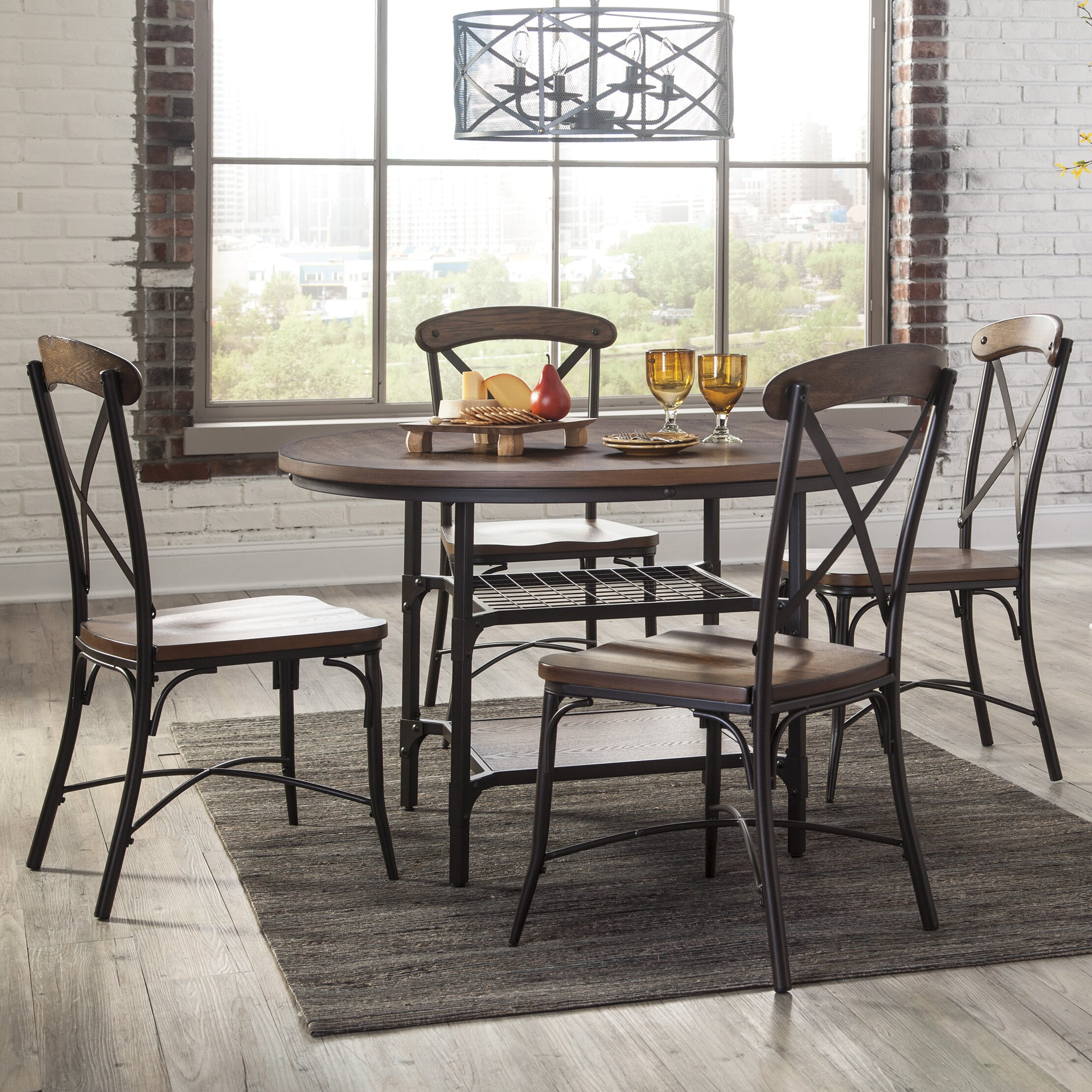 Signature design by ashley dining table reviews wayfair for Wayfair dining table
