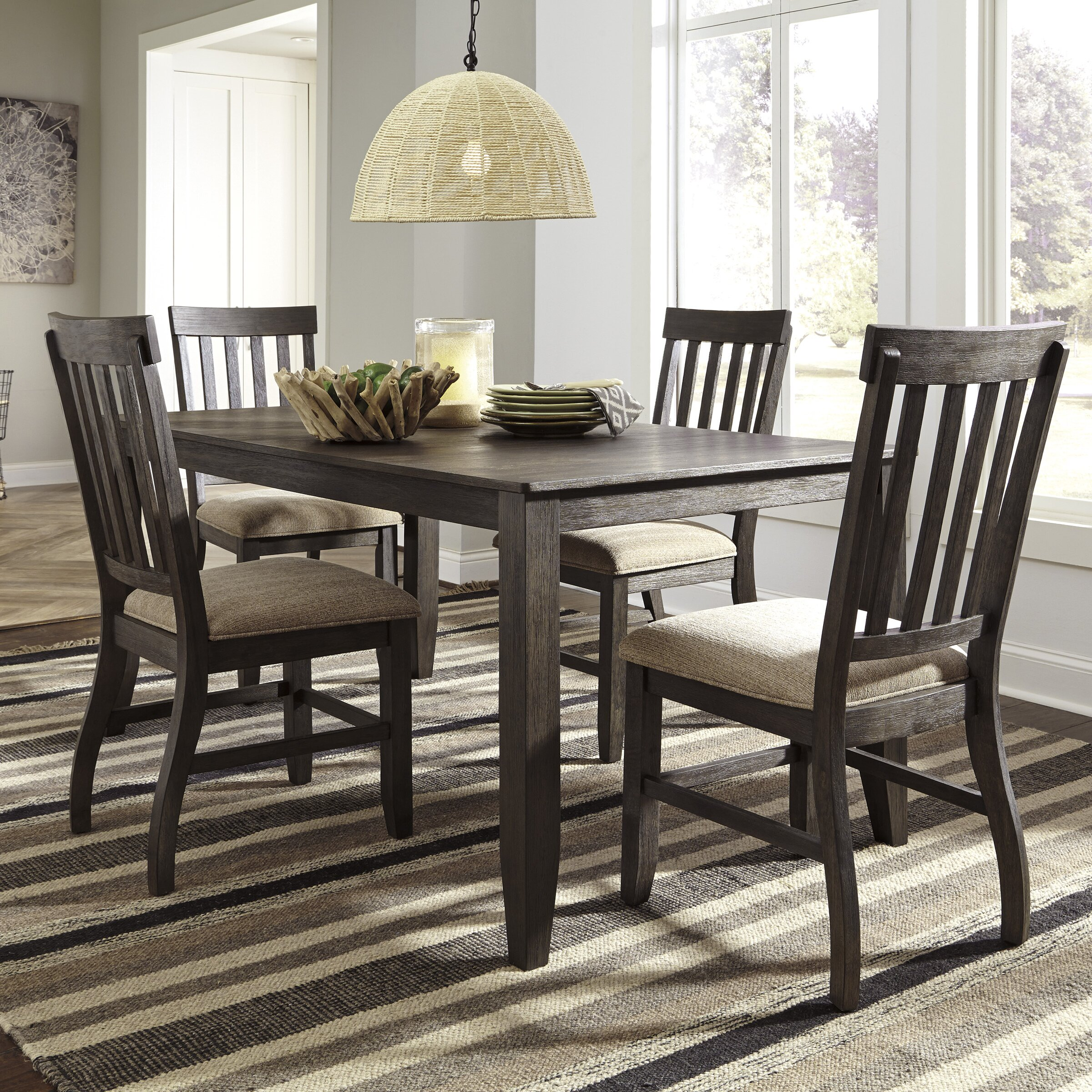 Ashley Furniture Dinette Set: Signature Design By Ashley 5 Piece Dining Set & Reviews