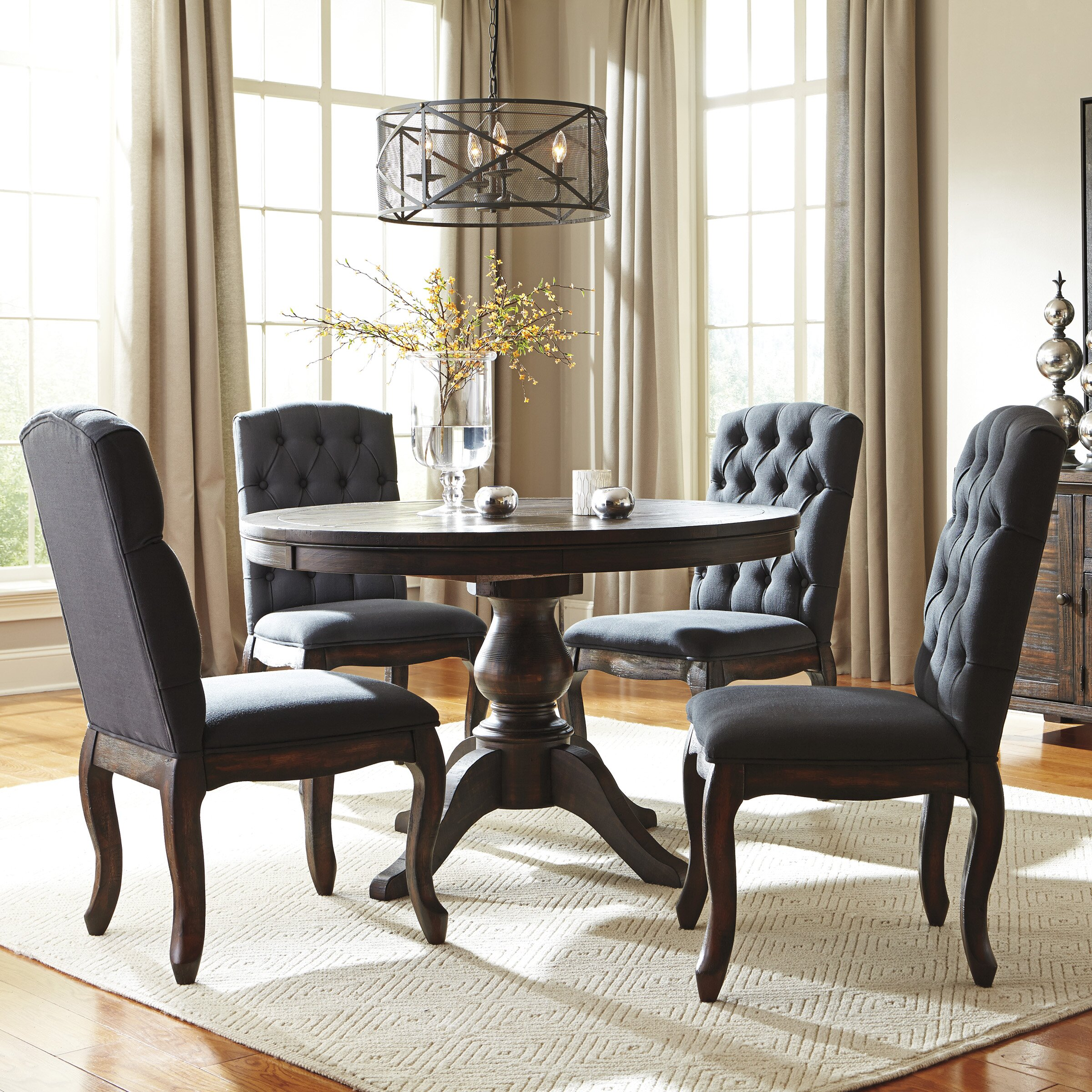 Dining Room Sets 5 Piece: Signature Design By Ashley 5 Piece Dining Set & Reviews