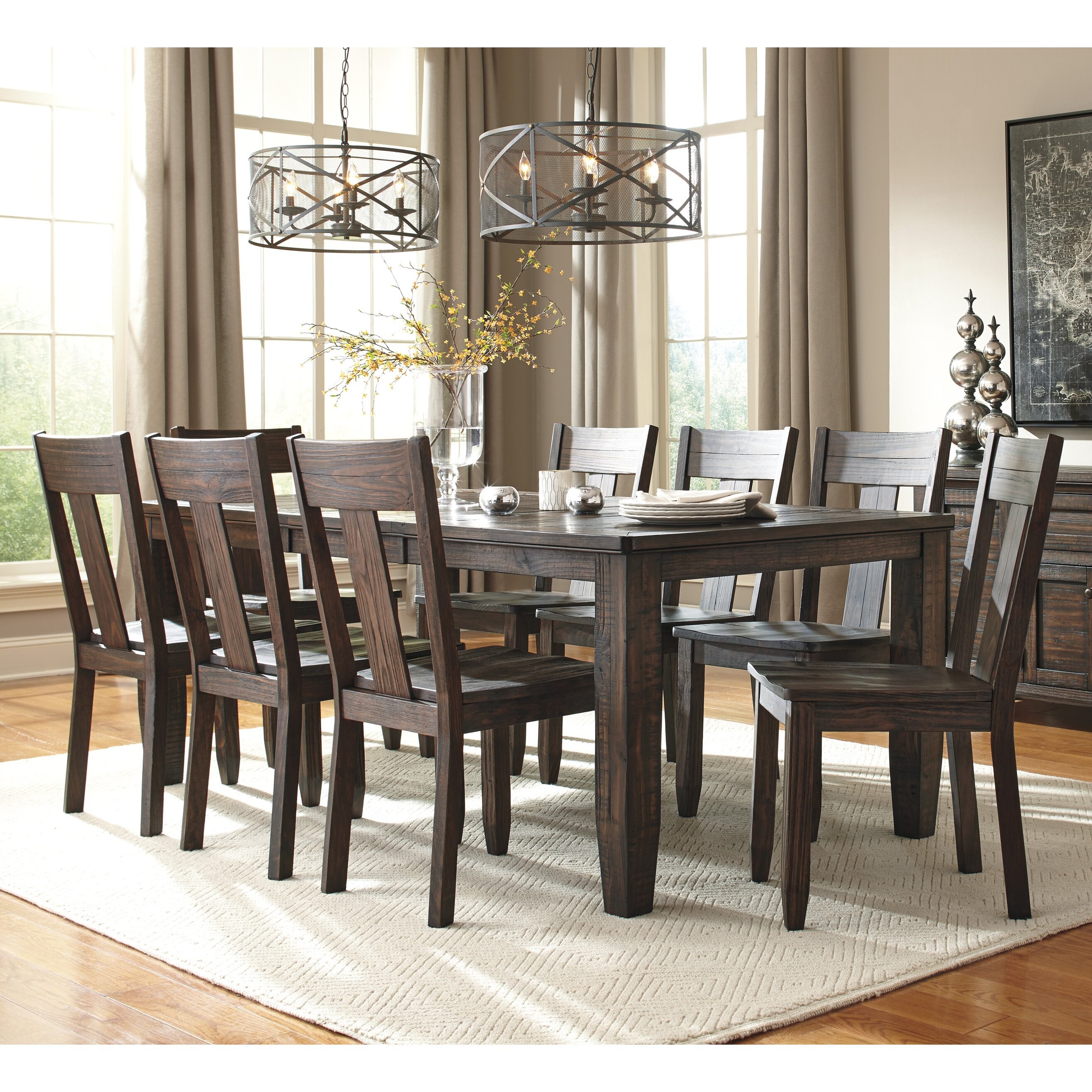 kitchen dining furniture 9 piece kitchen dining room sets