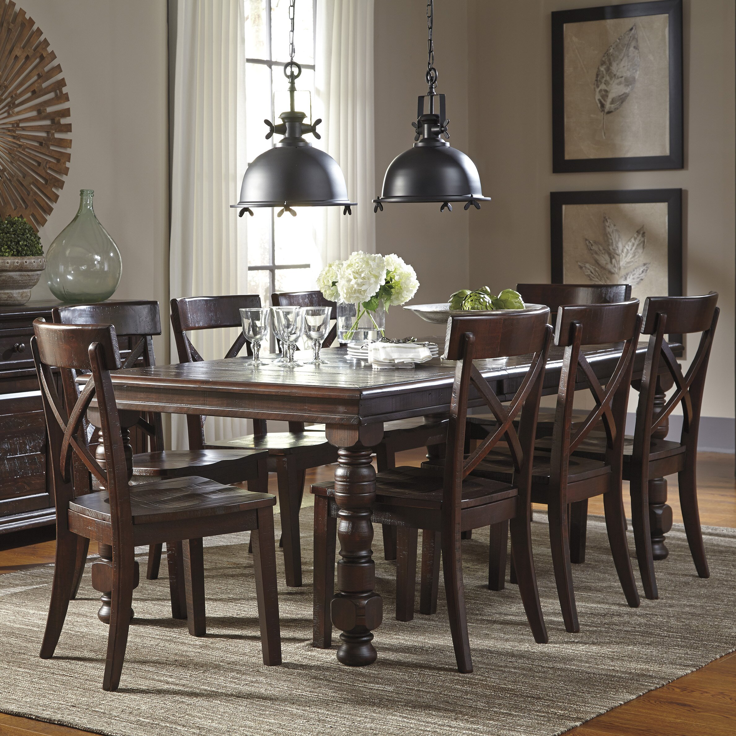 Kitchen Table Sets Under 300 Signature Design By Ashley 5 Piece Dining Set Reviews Wayfair