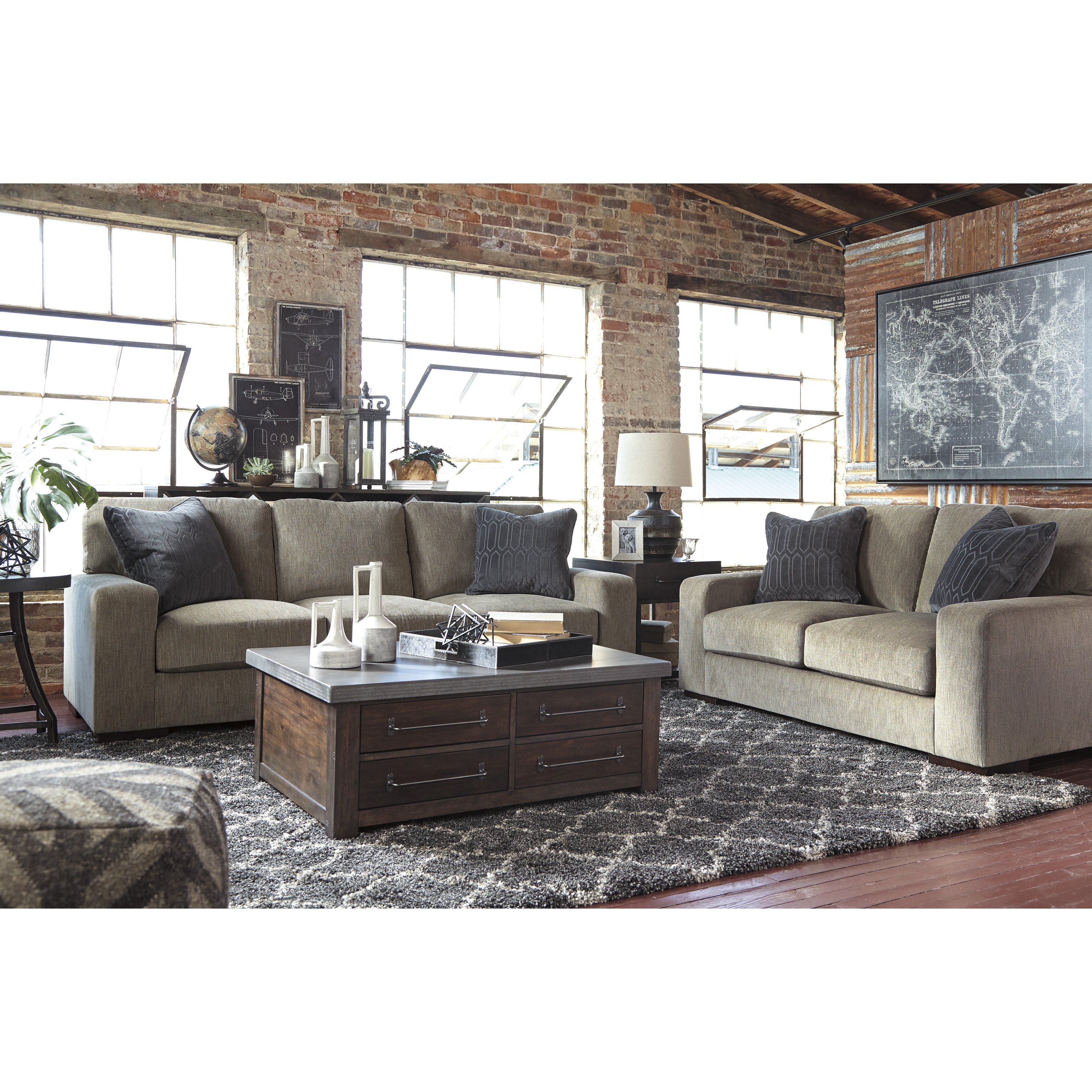 Signature Design By Ashley Starmore Coffee Table Wayfair