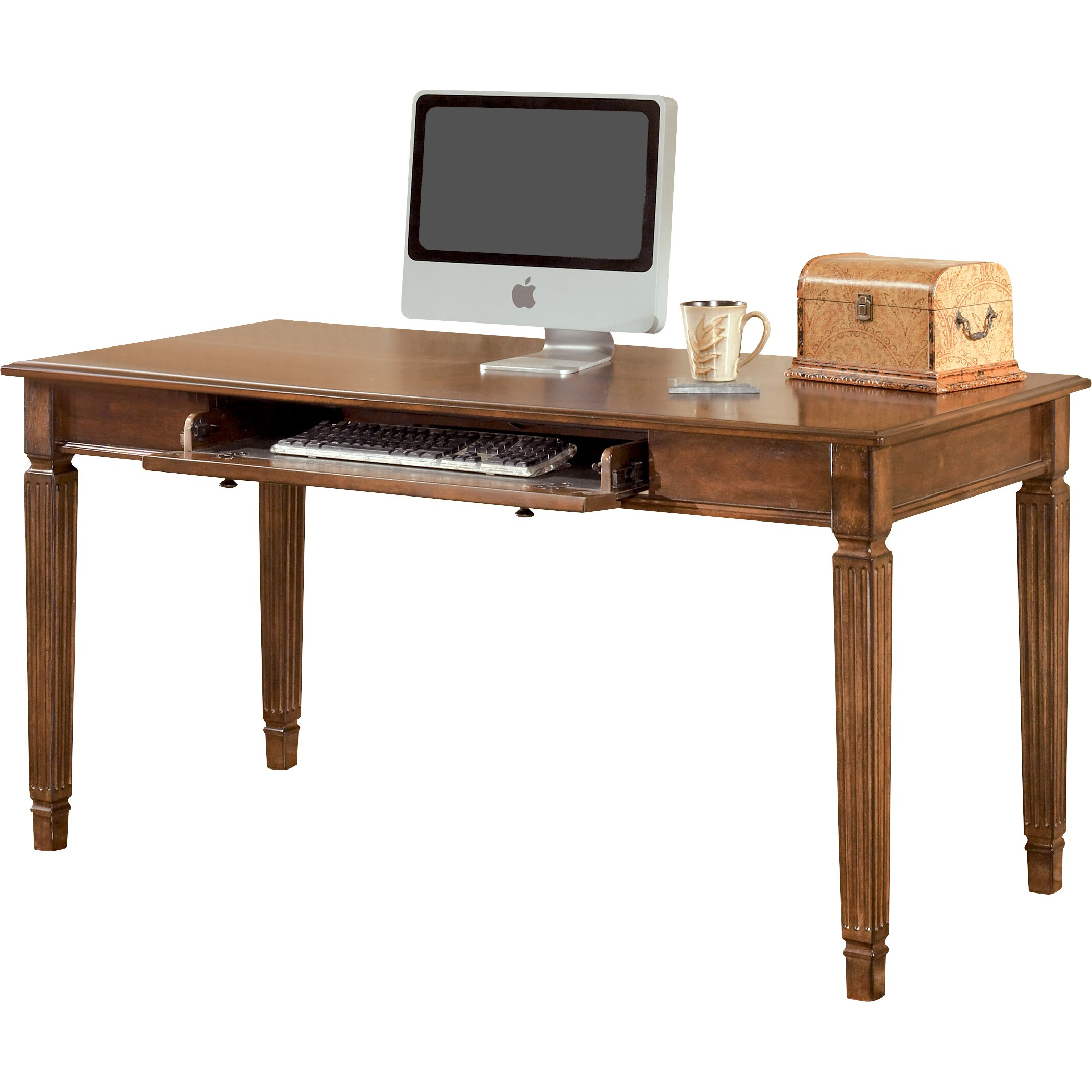 Signature Design By Ashley Hamlyn Large Leg Computer Desk