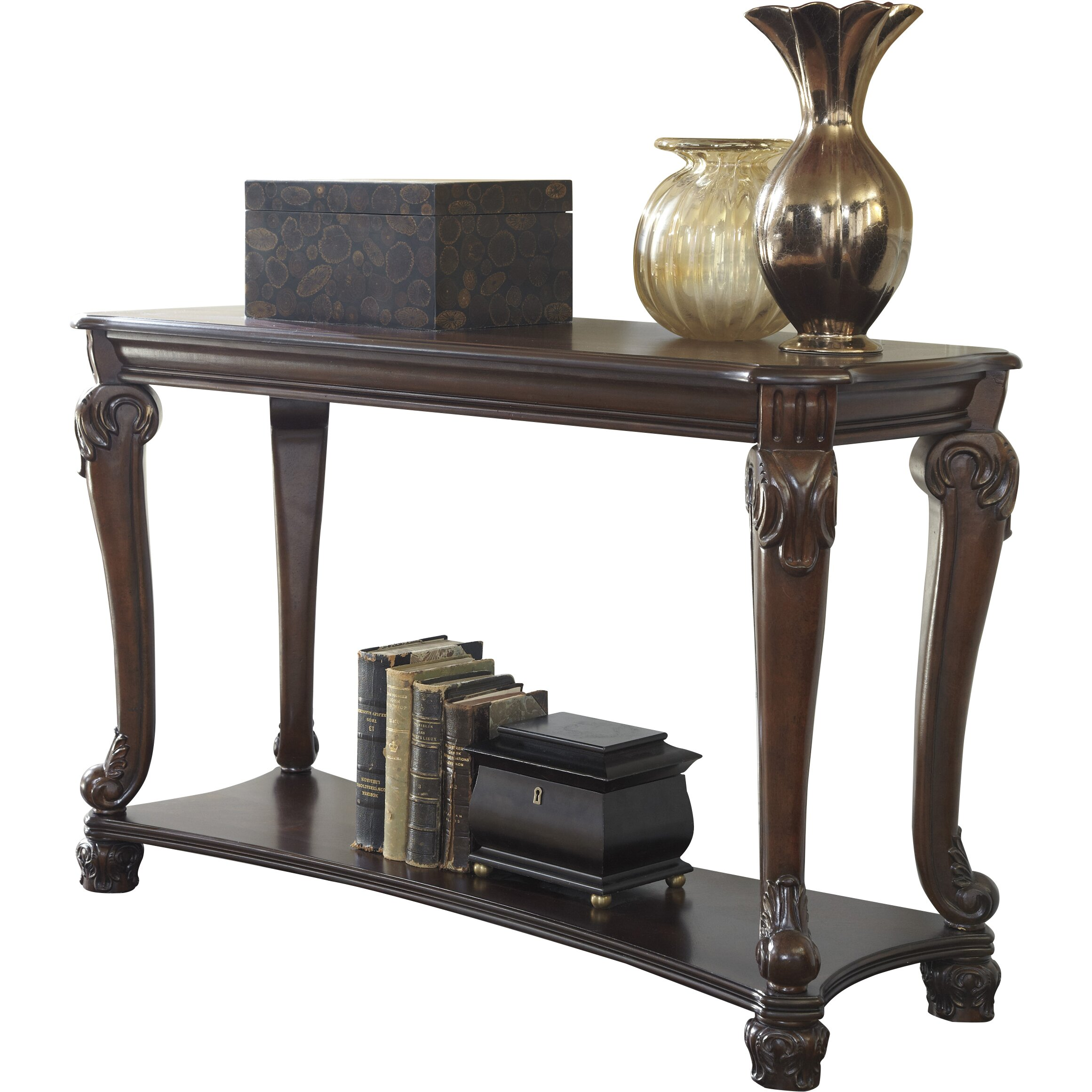 Ashley Furniture Foyer Table : Signature design by ashley norwood console table reviews
