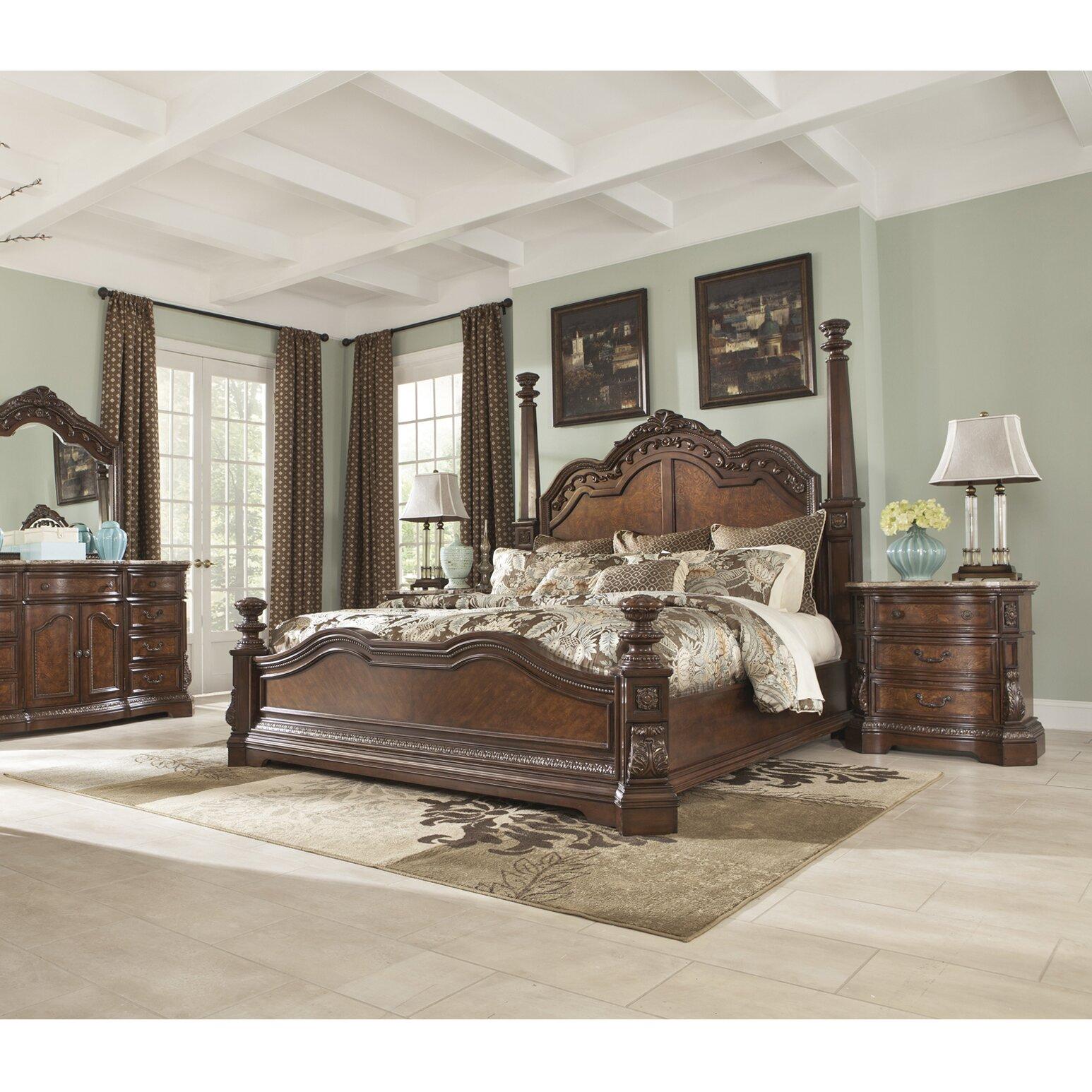 Signature design by ashley ledelle panel customizable - Ashley bedroom furniture reviews ...