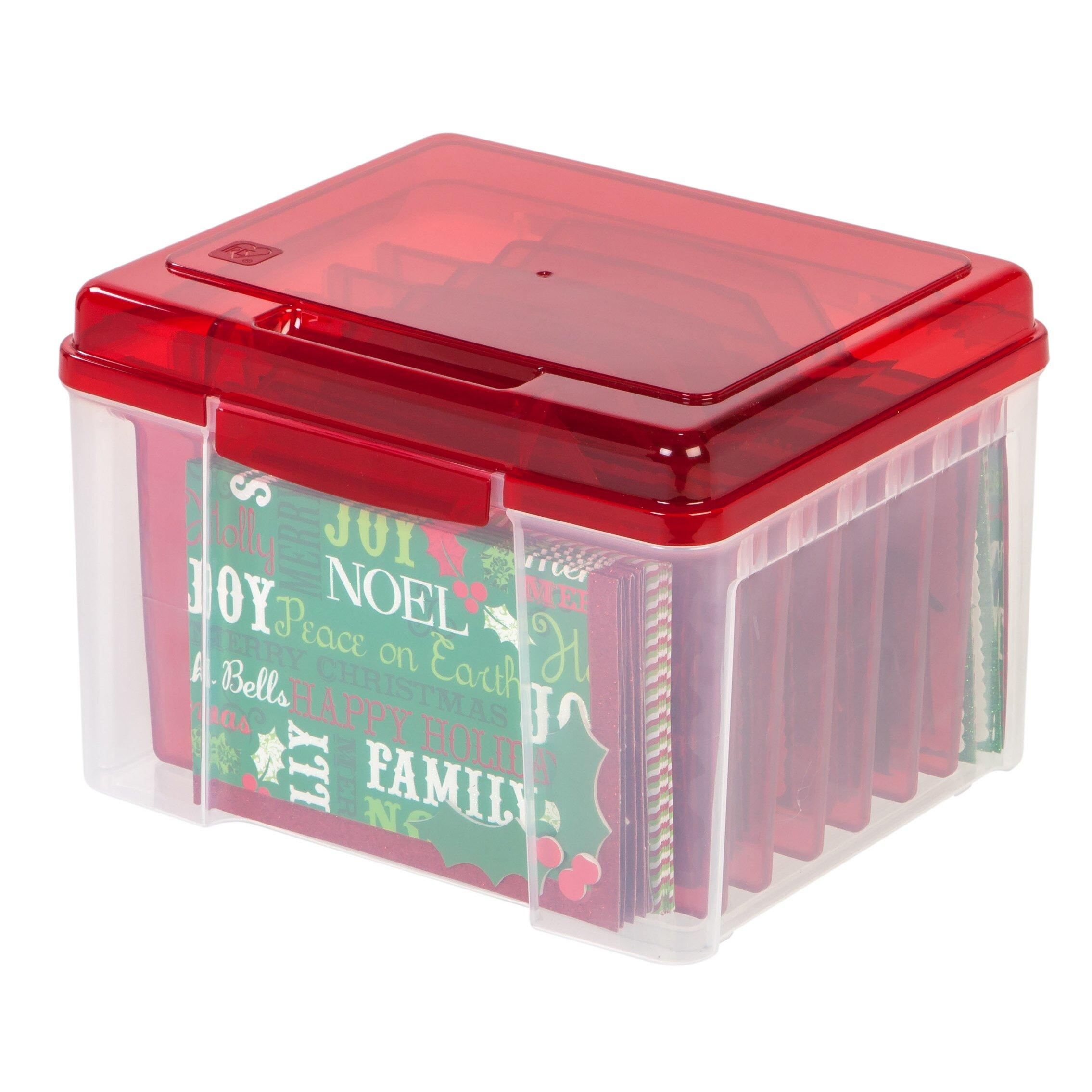 IRIS Greeting Card Storage Box & Reviews