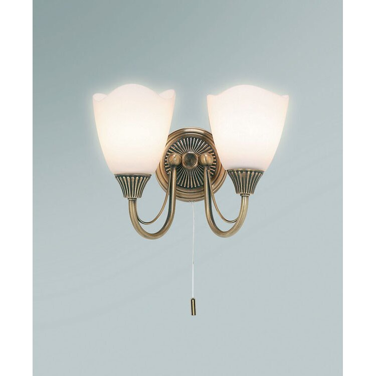 endon lighting wandleuchte 2 flammig chloe bewertungen. Black Bedroom Furniture Sets. Home Design Ideas