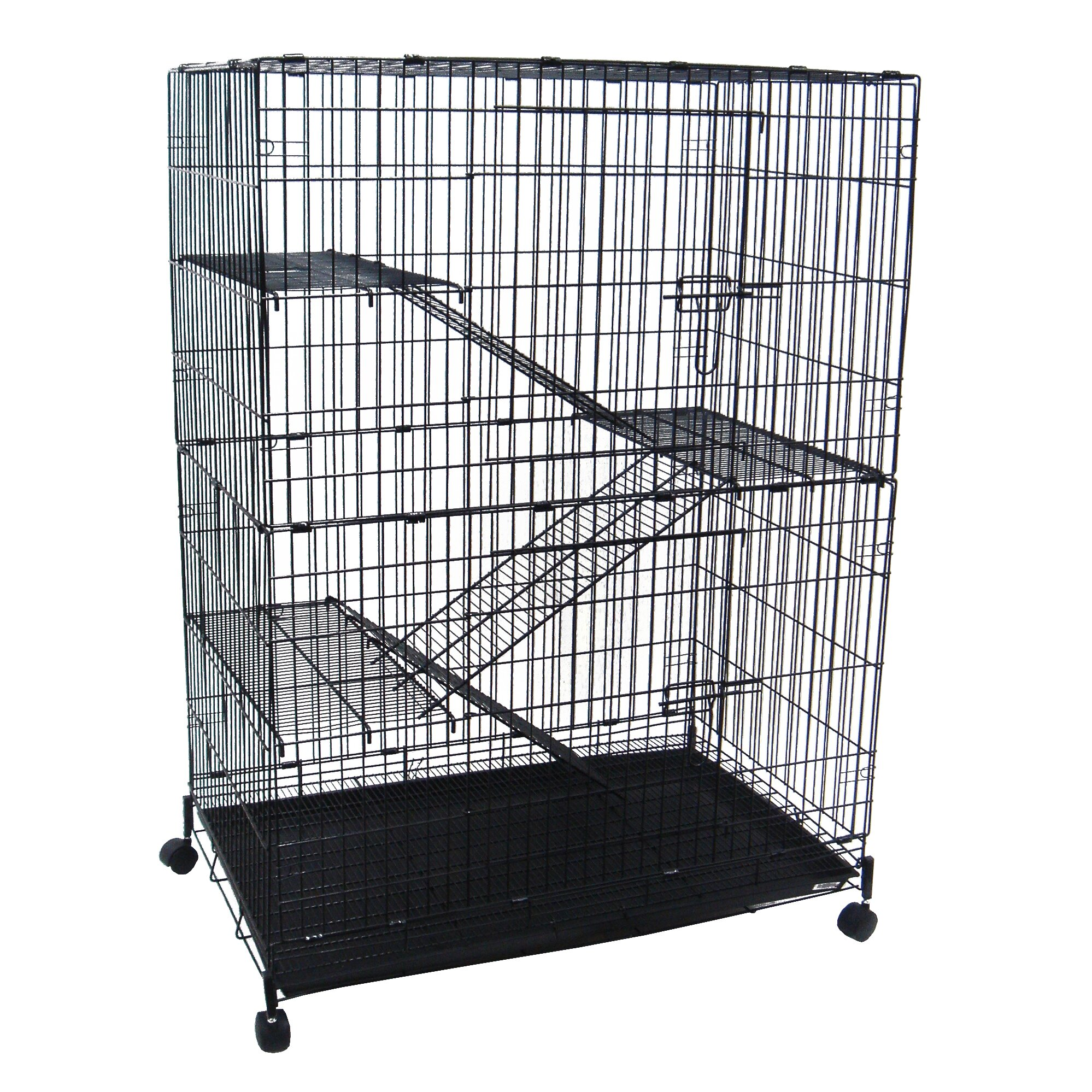 YML 4-Level Small Animal Cage & Reviews