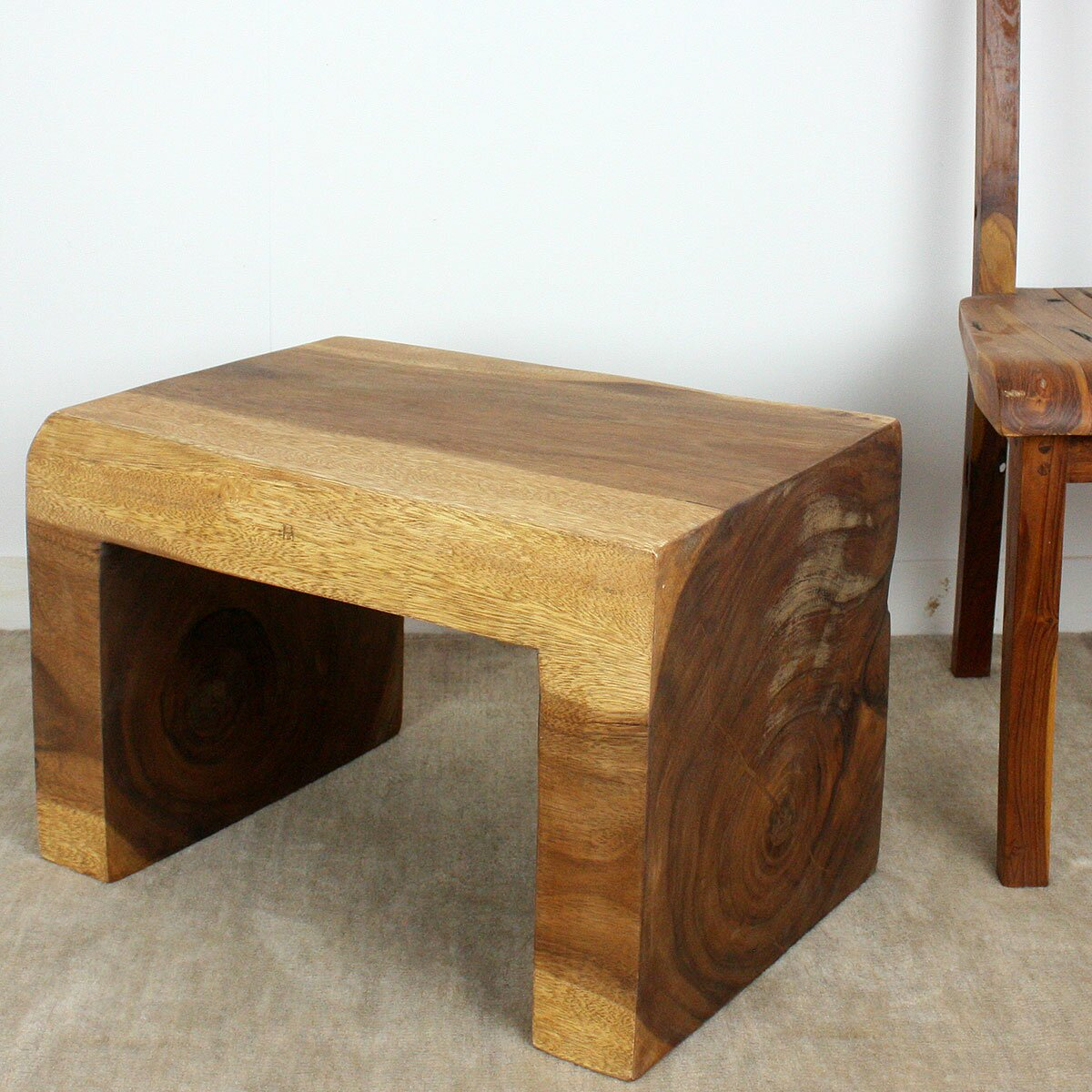 Waterfall Ends Kitchen Bench: Strata Furniture End Table & Reviews