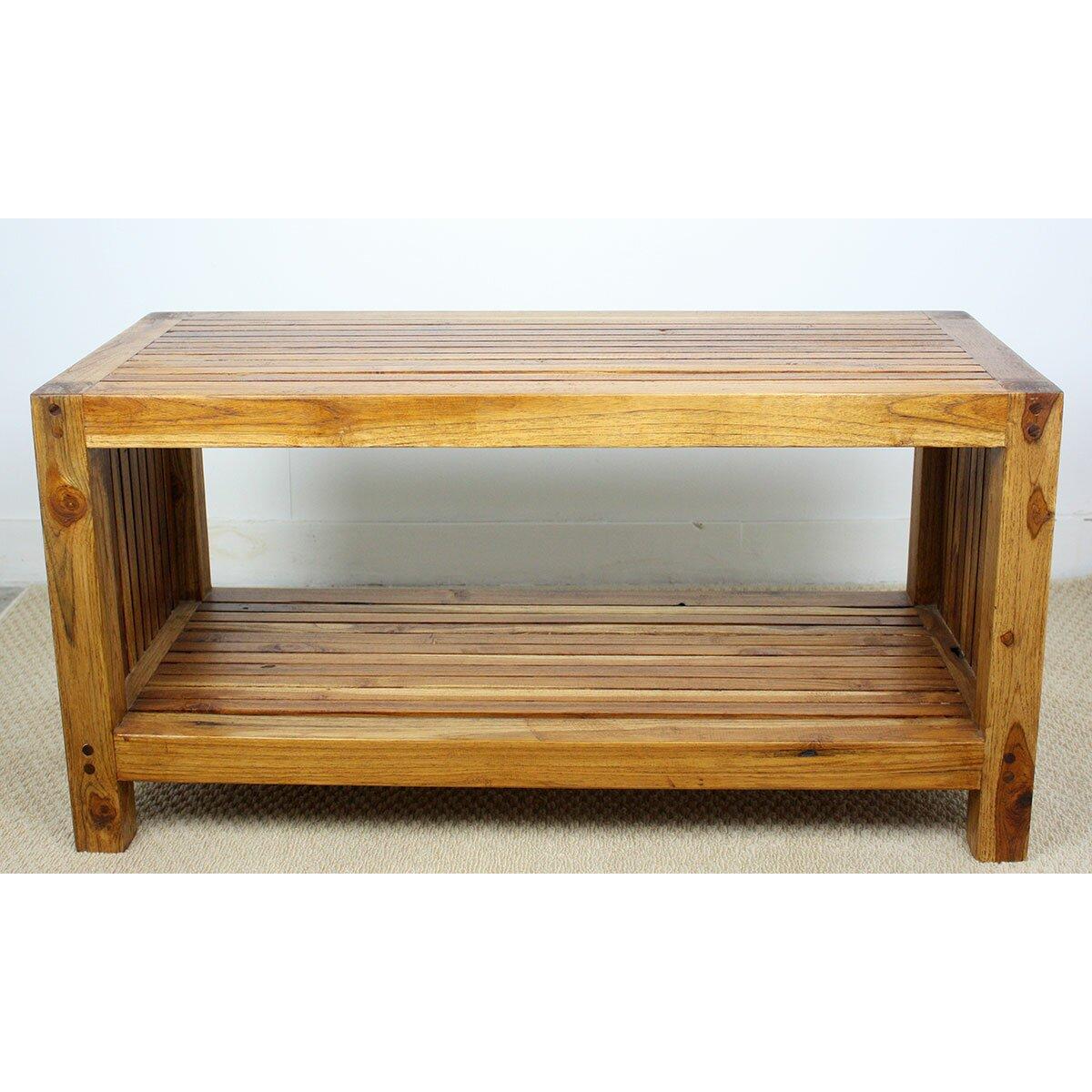 Strata Furniture Teak Slat Coffee Table Reviews