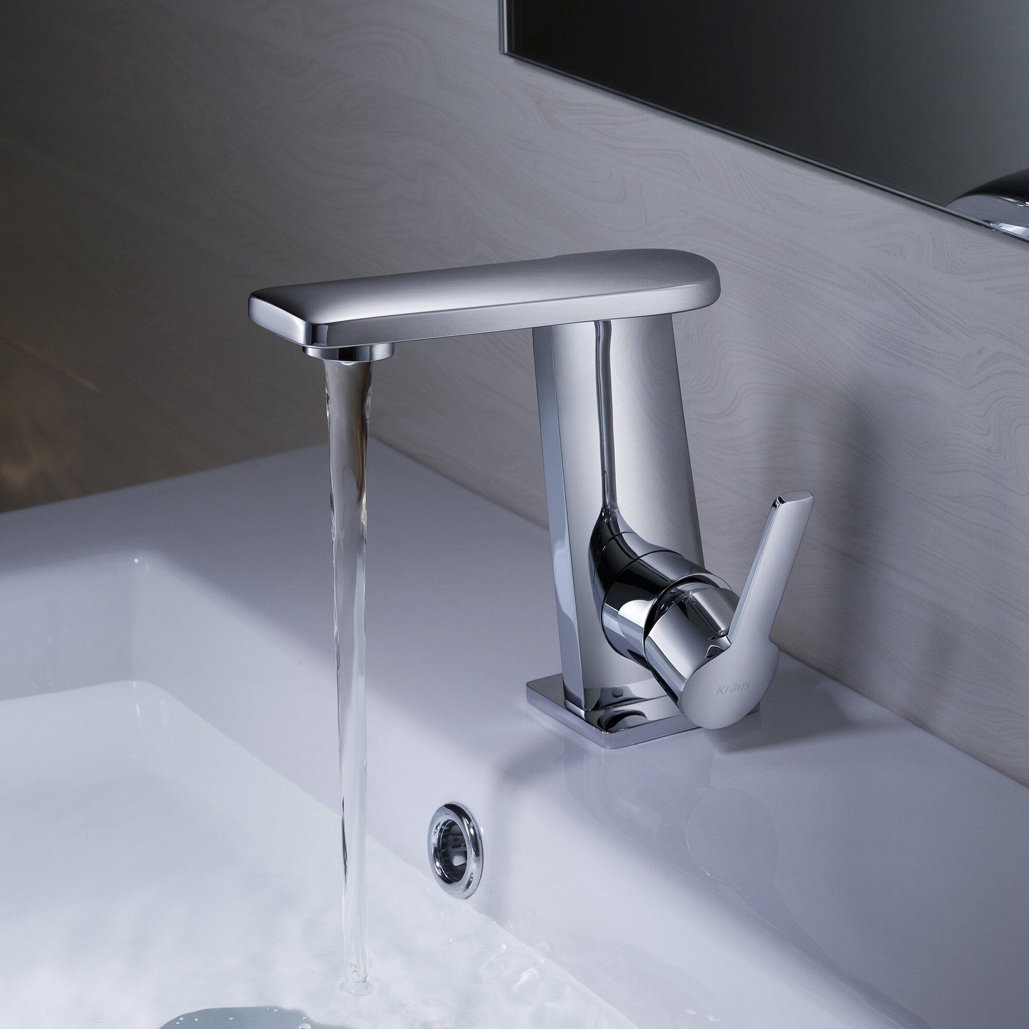 Kraus Faucets Reviews : Kraus Exquisite Novus Single Lever Basin Faucet & Reviews Wayfair