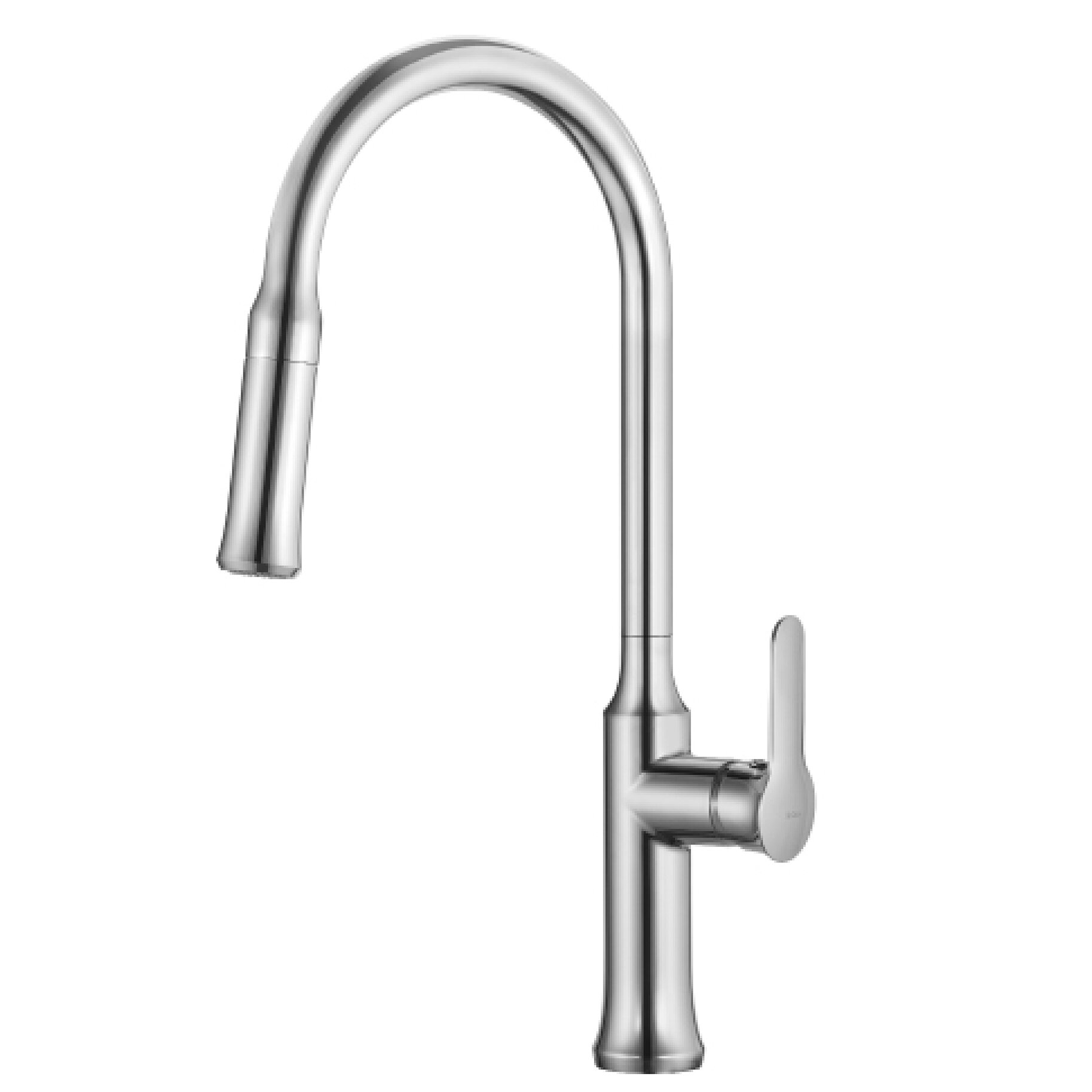 Single Lever Pull Down Kitchen Faucet