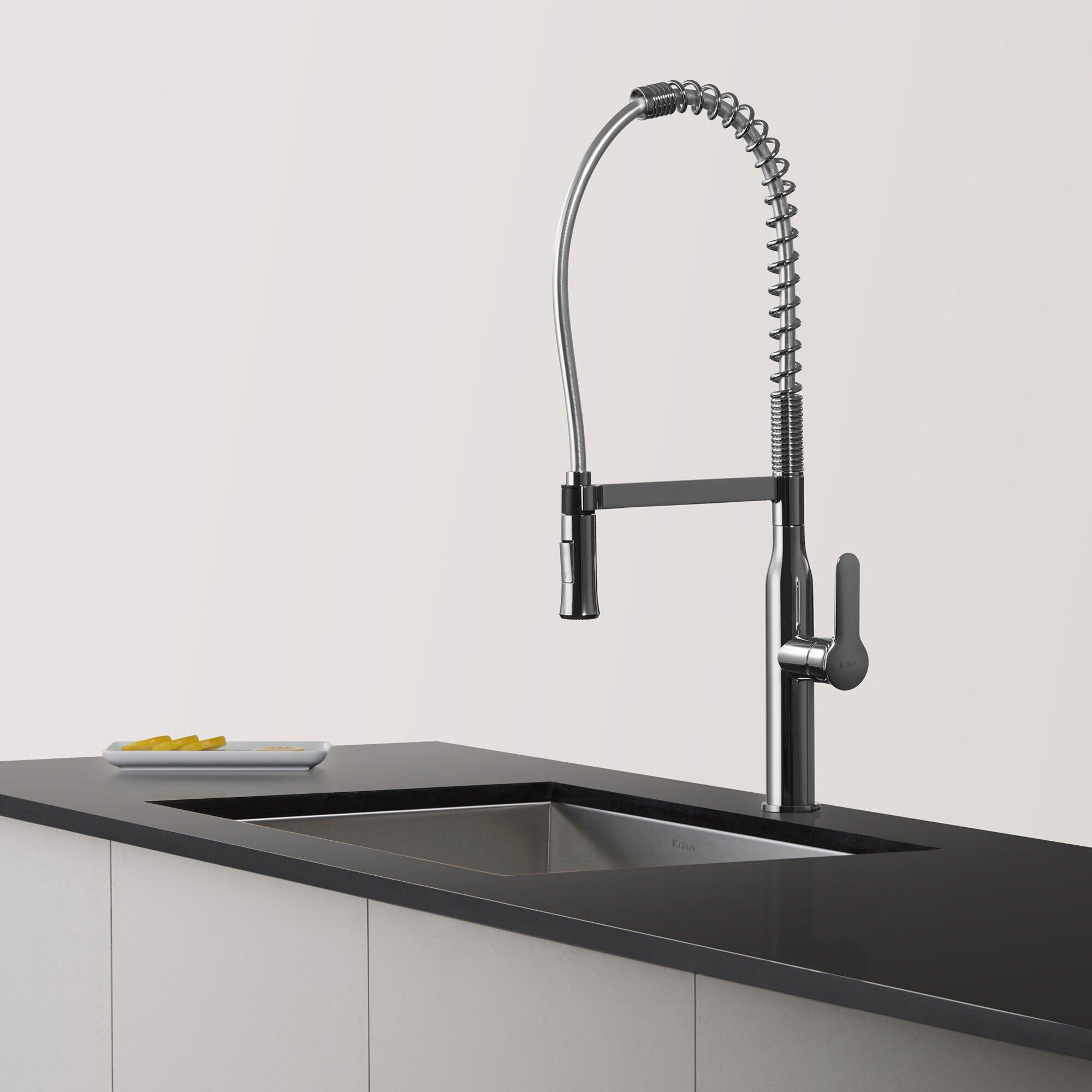 Kpf  Kraus Nola Single Lever Commercial Style Kitchen Faucet