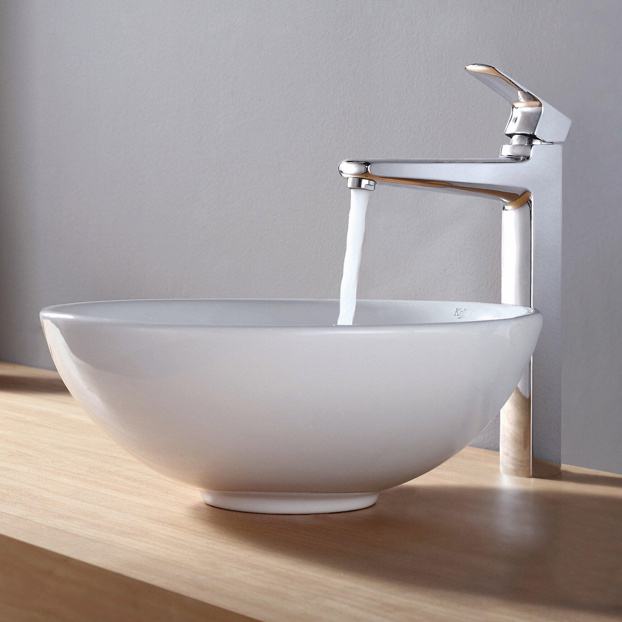 ... Fixtures ... Vessel Bathroom Sinks Kraus Part #: KCV-141 SKU: KUS1328