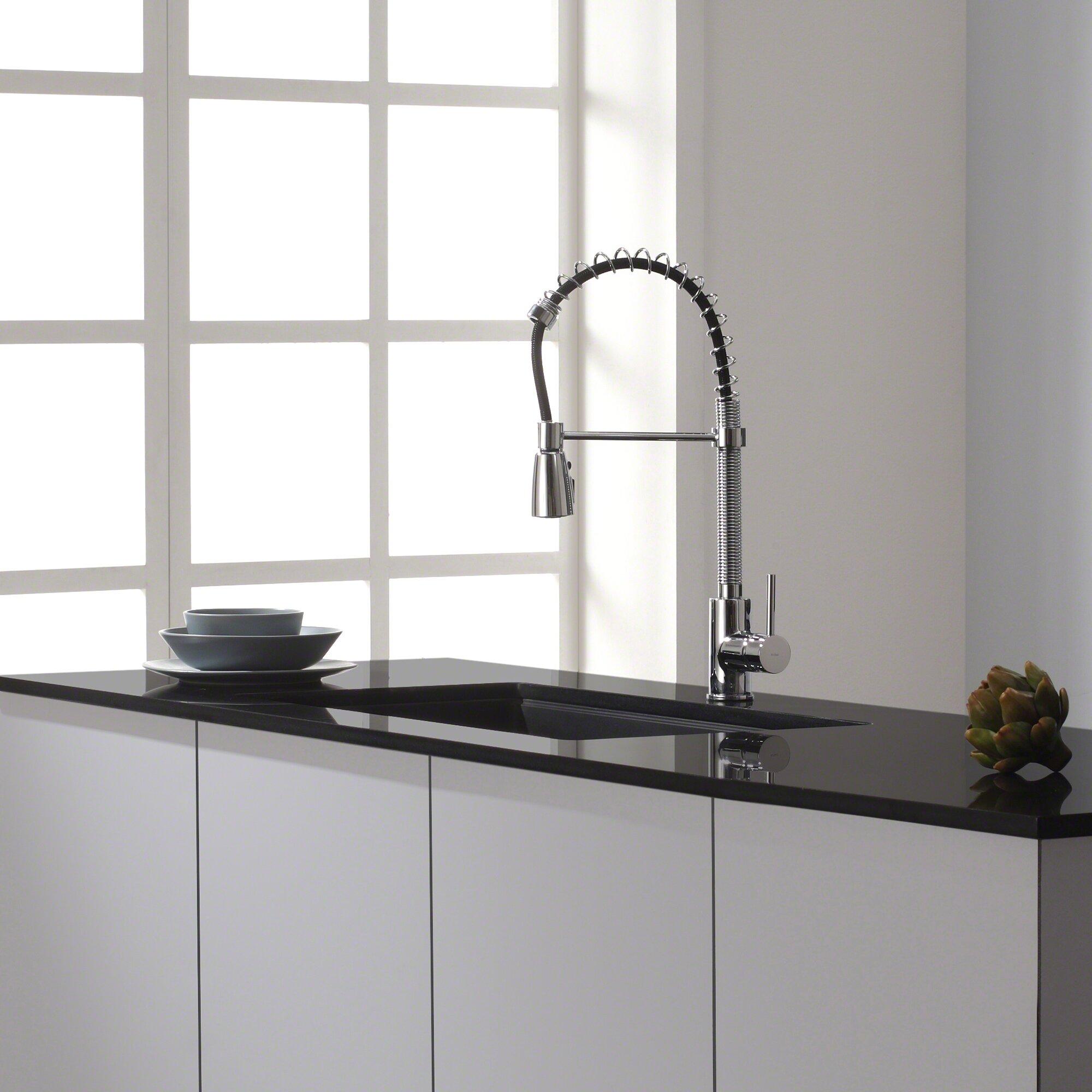 """Kraus 31"""" X 17.09"""" Undermount Single Bowl Granite Kitchen"""