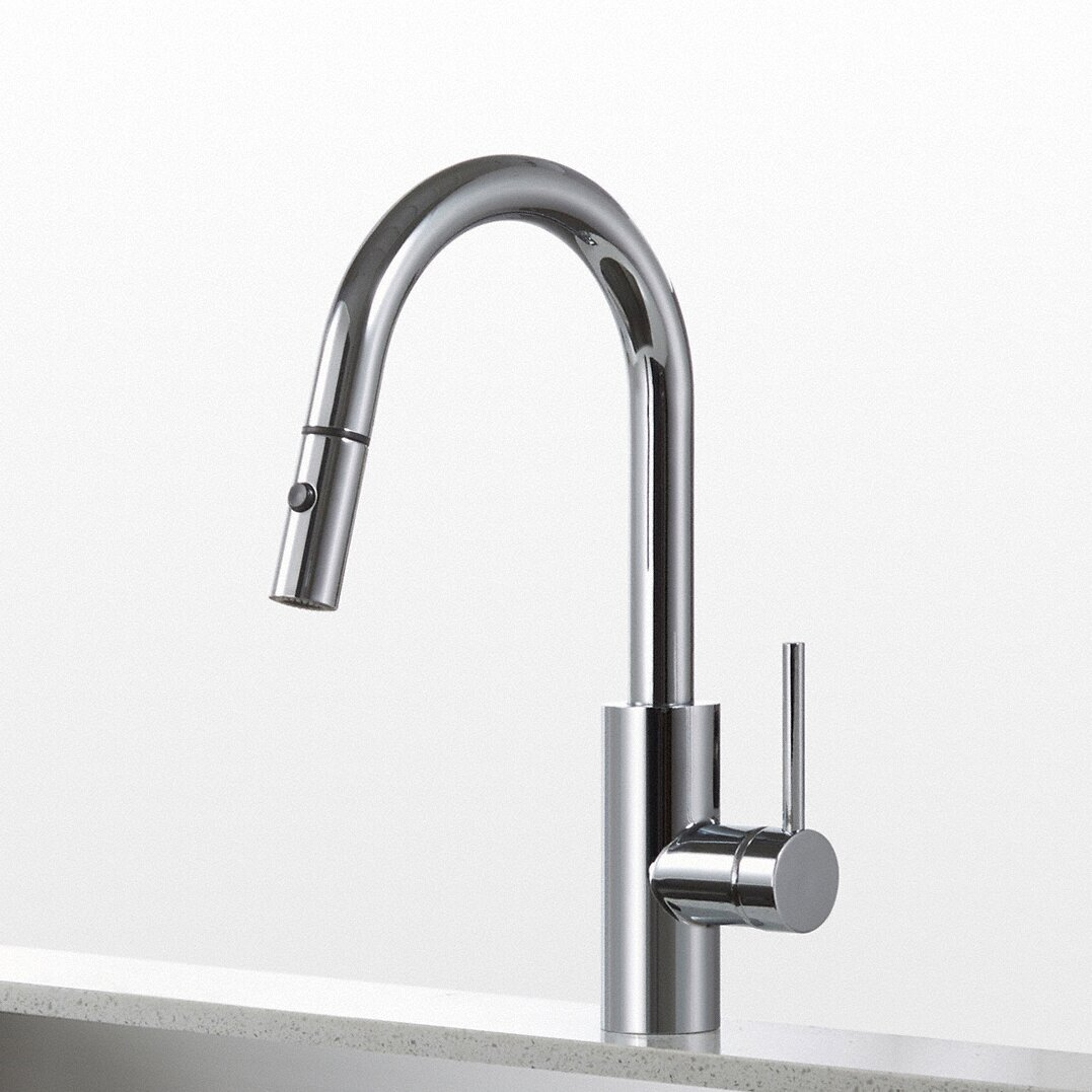 Kraus Mateo Single Lever Pull Down Kitchen Faucet Reviews