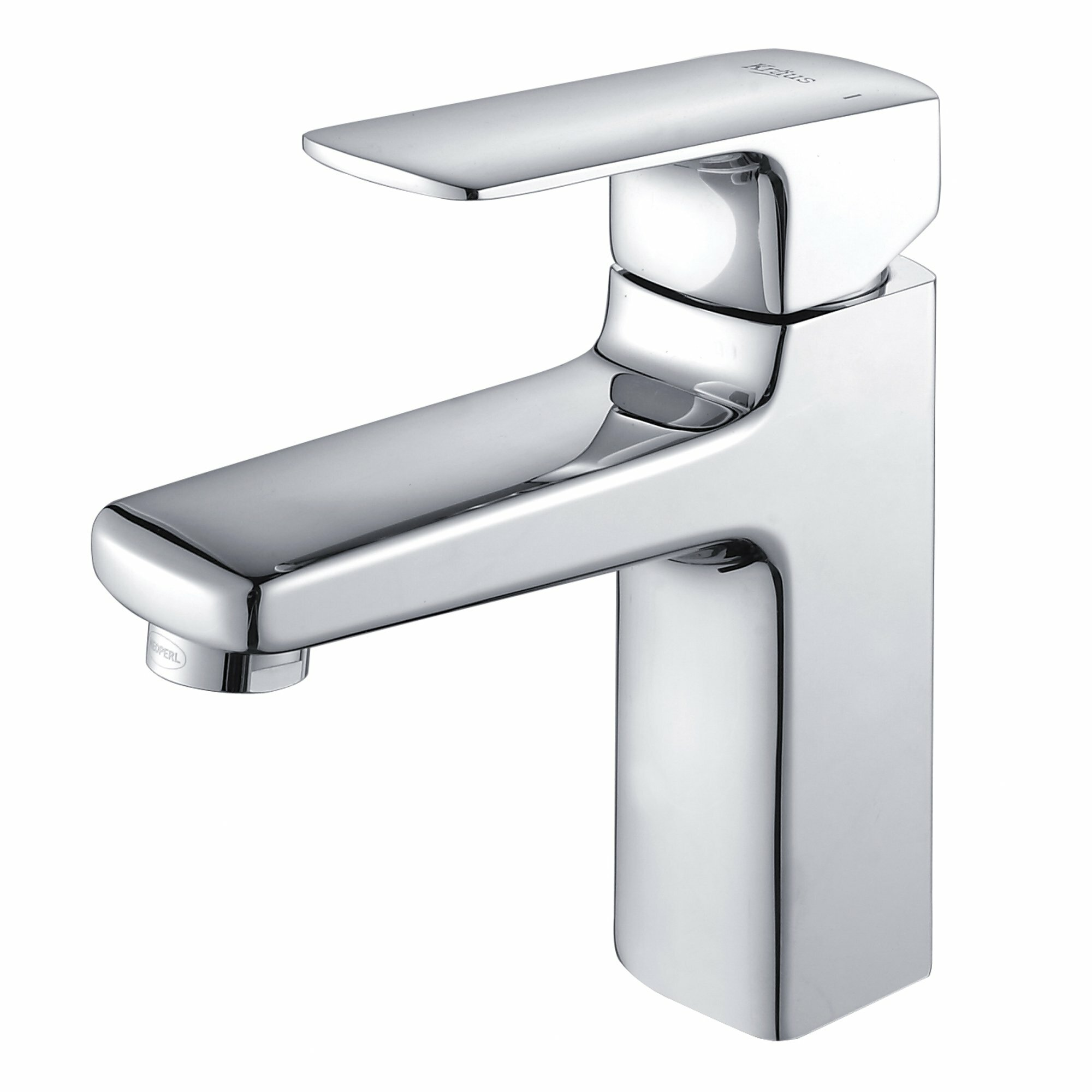 Kraus virtus single hole faucet with lever handle - Kraus shower faucets ...
