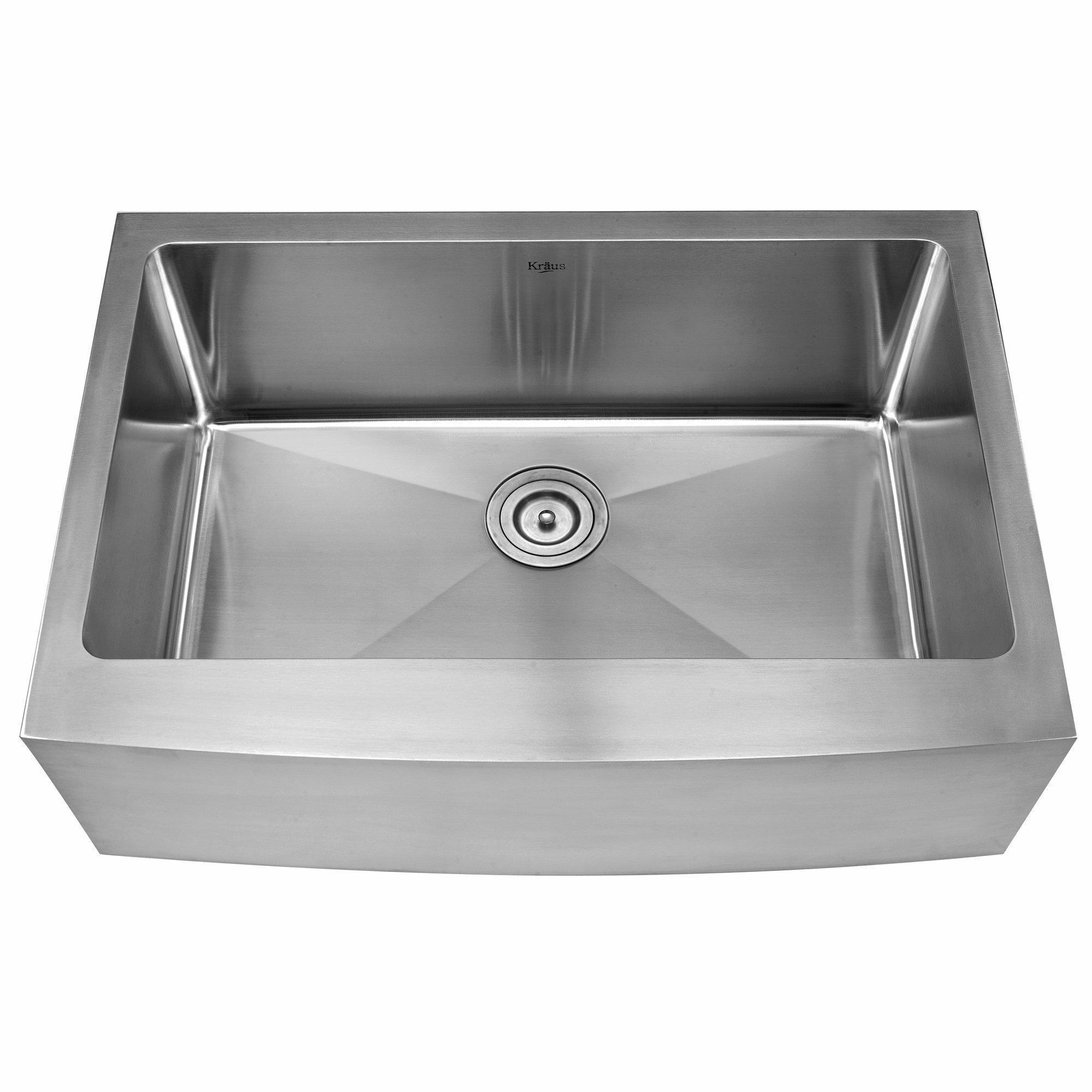 Kraus 29 X 20 Farmhouse Kitchen Sink Reviews Wayfair
