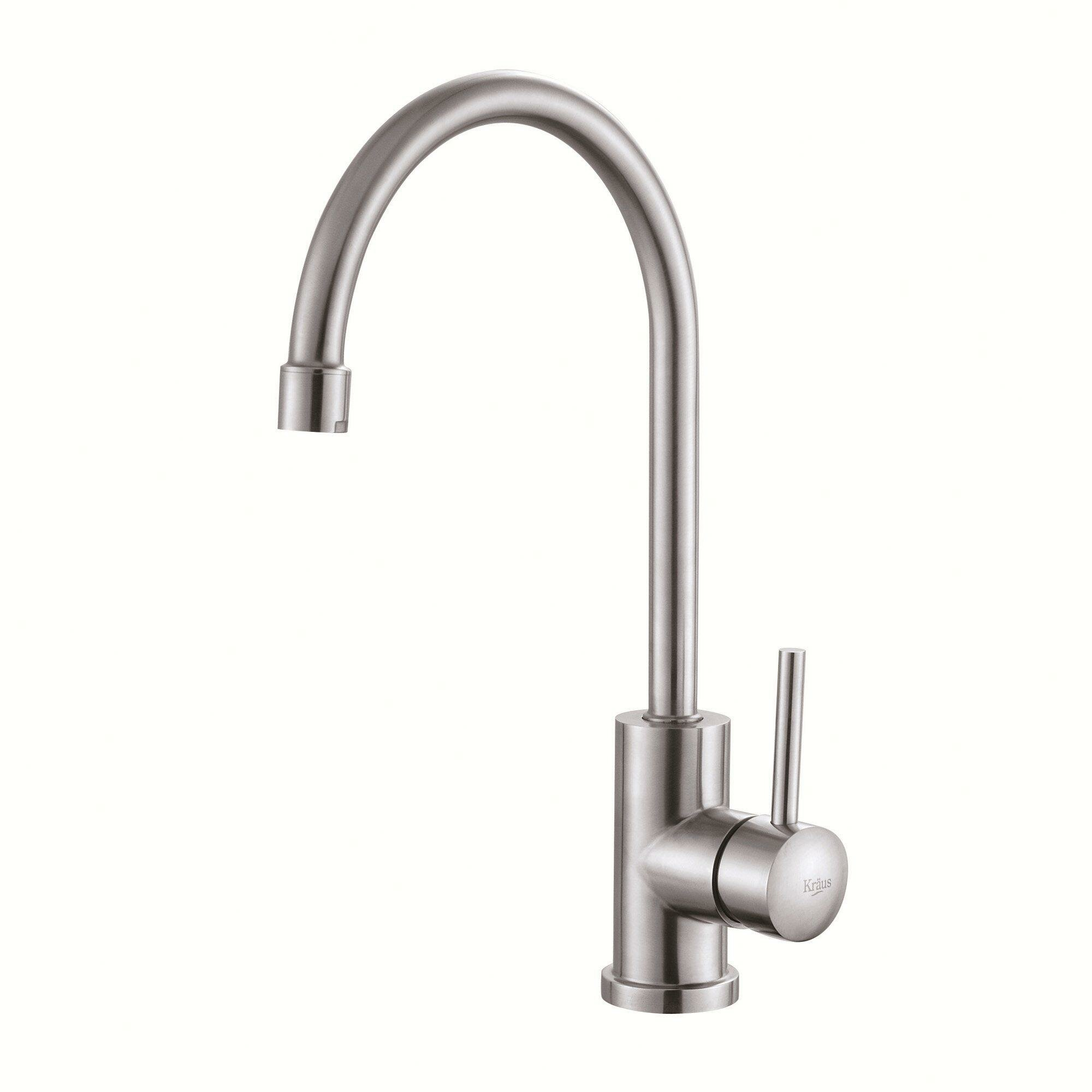 how to install kitchen faucet with undermount sink kraus 30 quot x 18 quot undermount kitchen sink with faucet and 9771