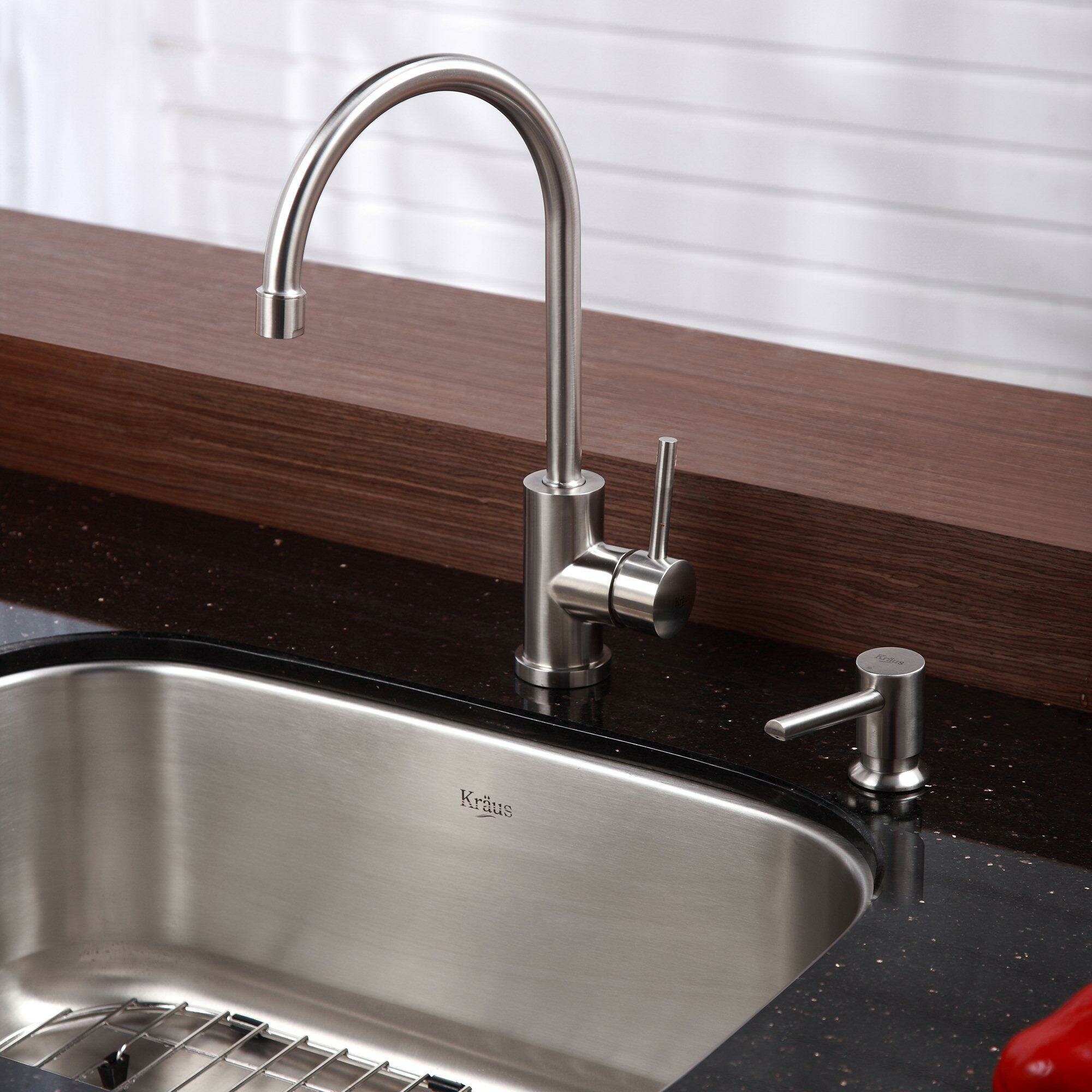 ... Single Bowl Kitchen Sink with 14.3