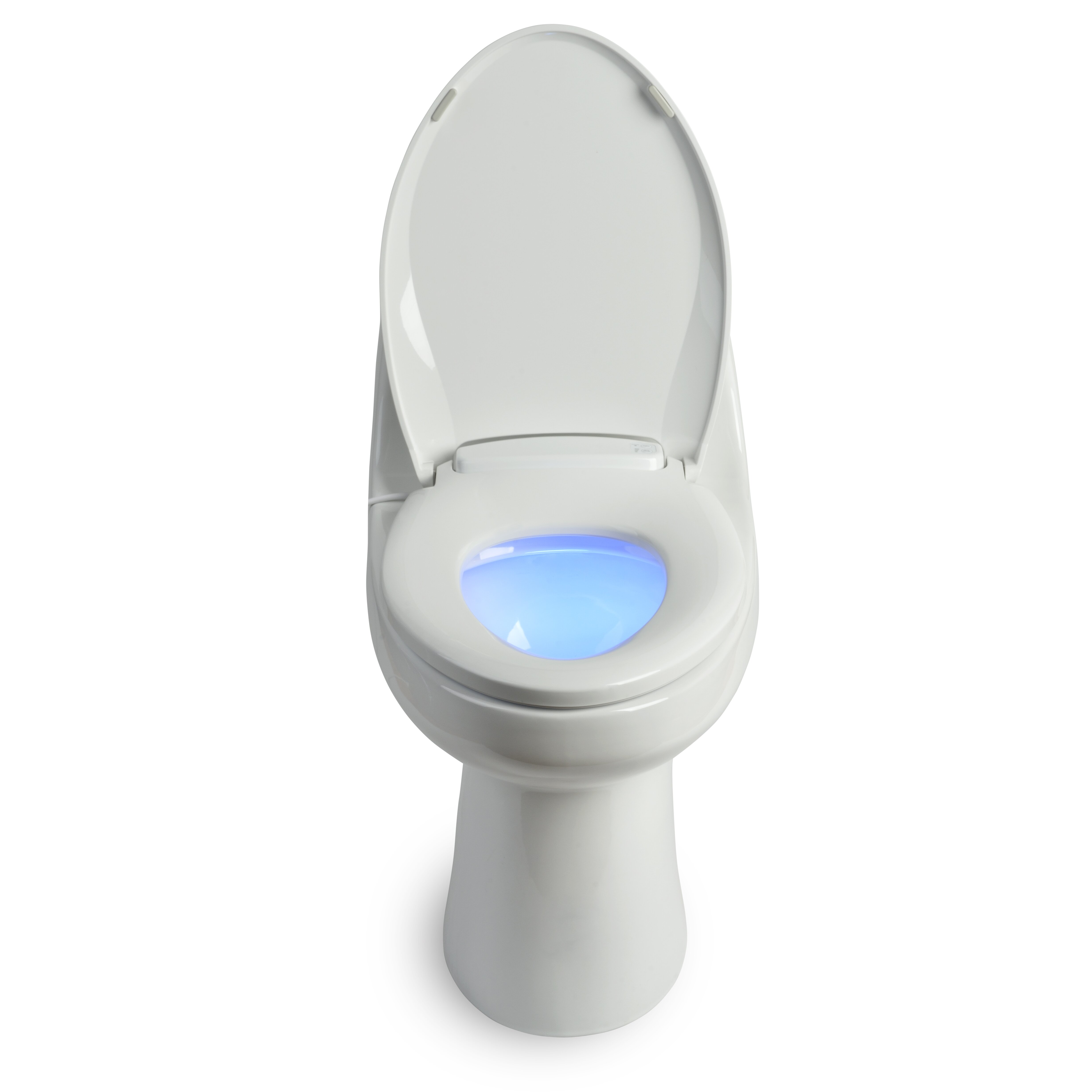 brondell lumawarm heated nightlight toilet seat reviews wayfair