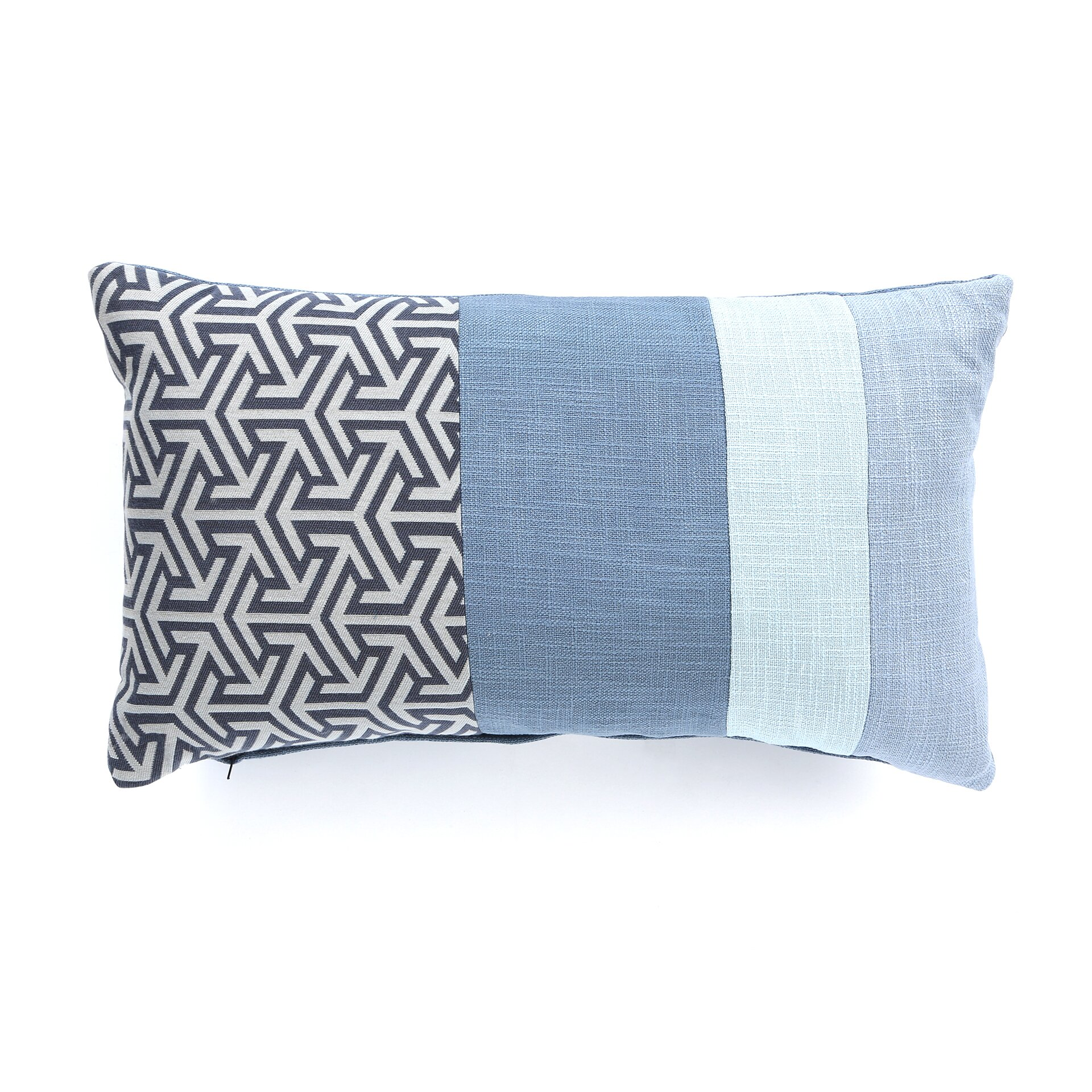 Wayfair Blue Decorative Pillows : Eastern Accents Mondrian Throw Pillow & Reviews Wayfair