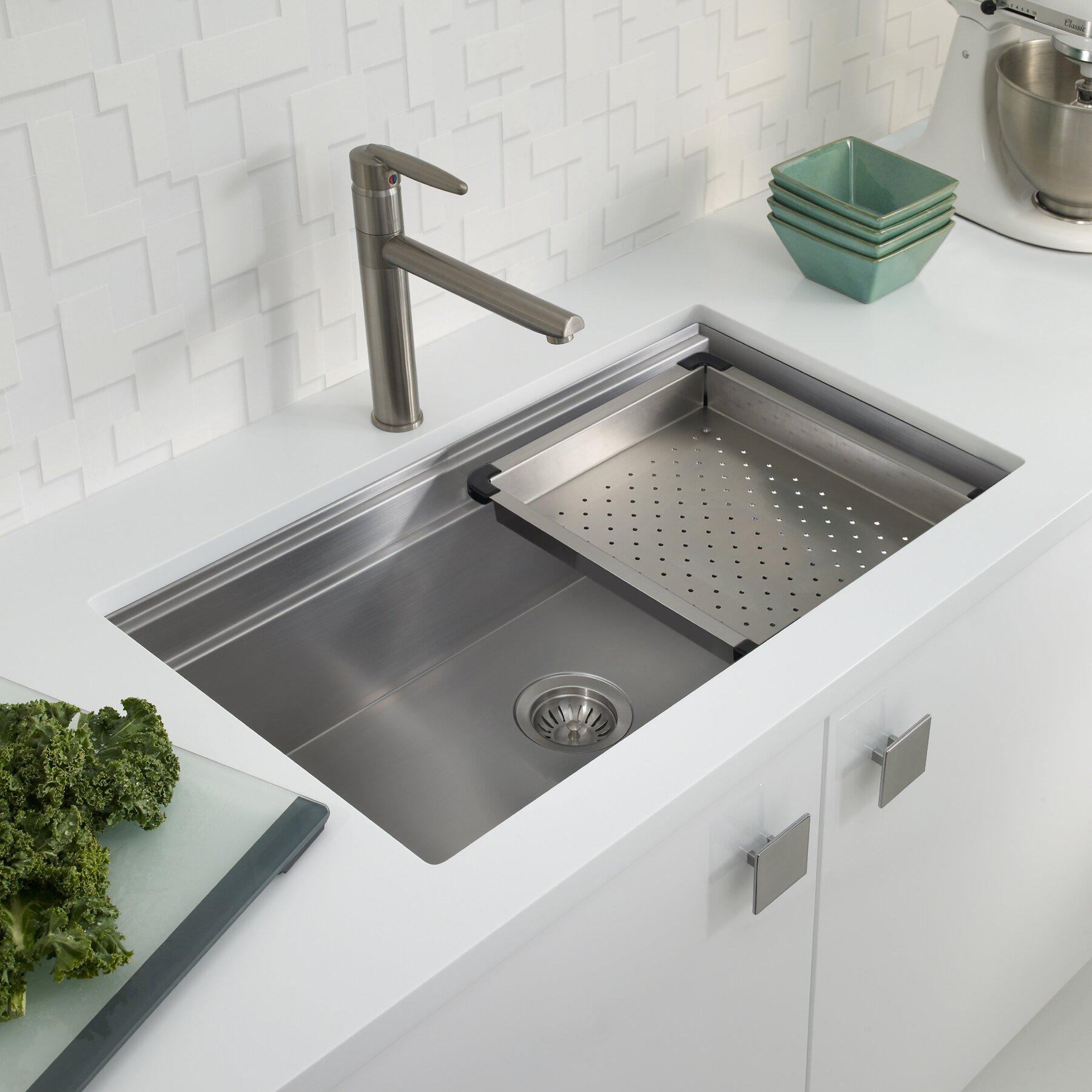 Houzer Novus X Kitchen Sink Wayfair