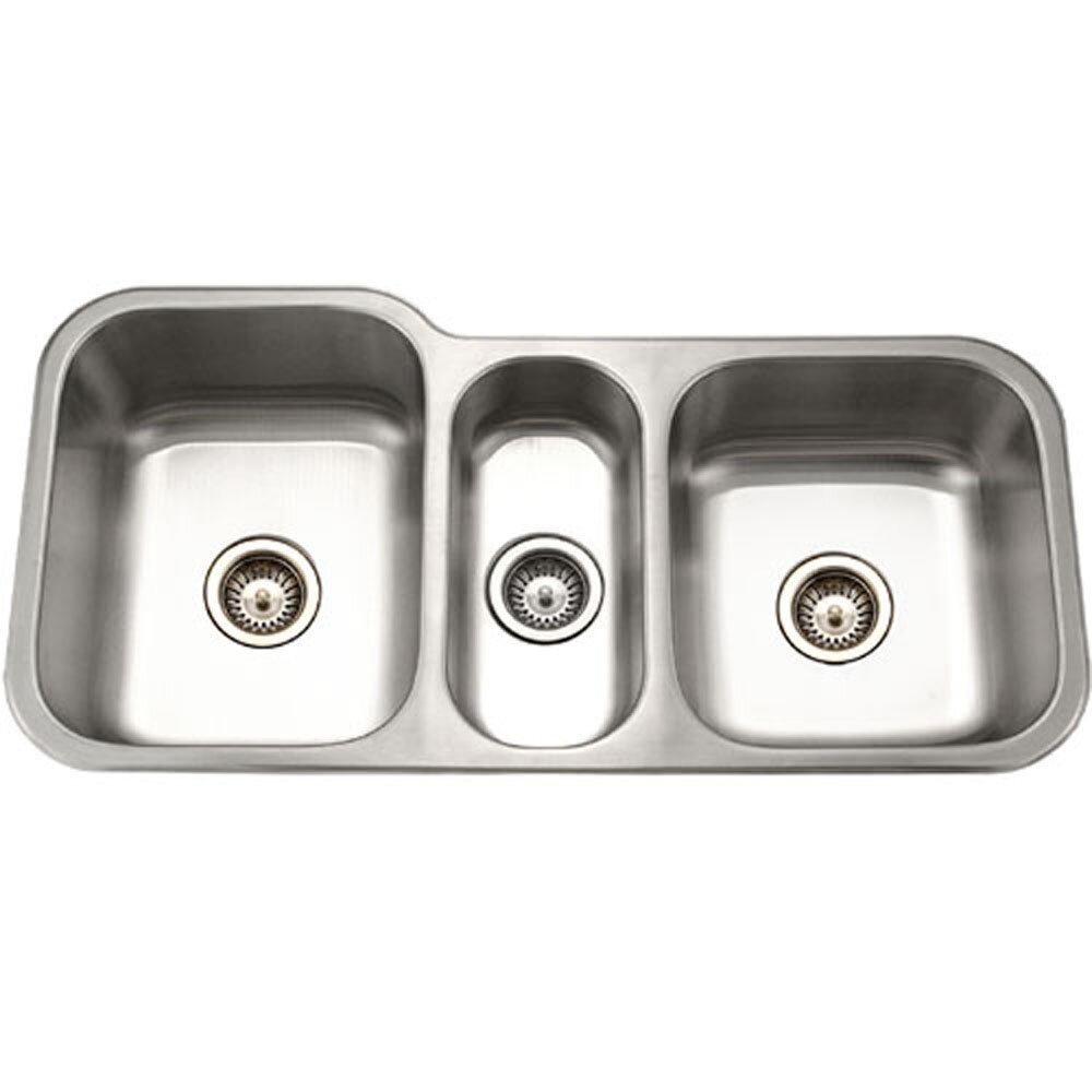 Houzer Medallion Gourmet X Undermount Triple Bowl Kitchen Sink Reviews