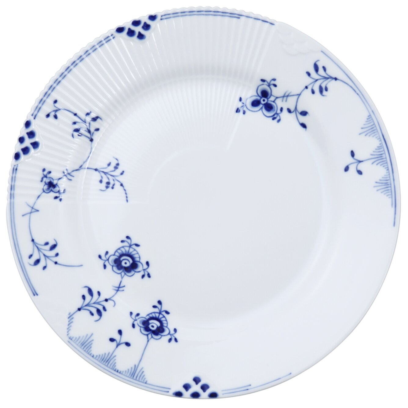 royal copenhagen blue elements salad plate wayfair. Black Bedroom Furniture Sets. Home Design Ideas