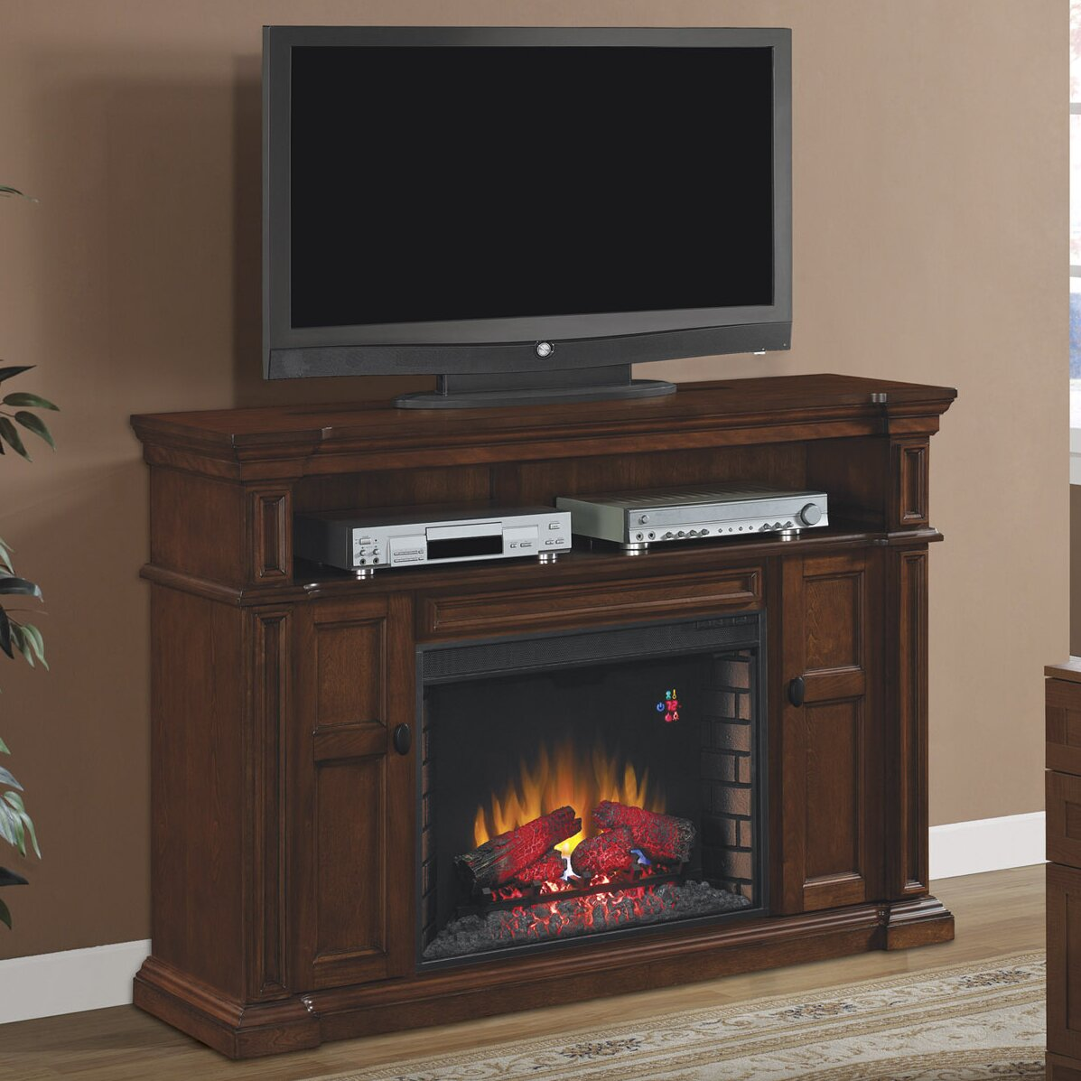 Classic Flame Wyatt Tv Stand With Infared Electric
