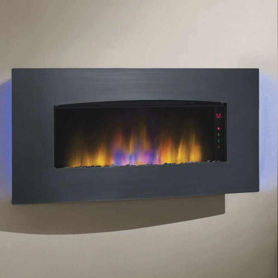 Classic Flame Harmony Wall Mount Electric Fireplace Reviews Wayfair