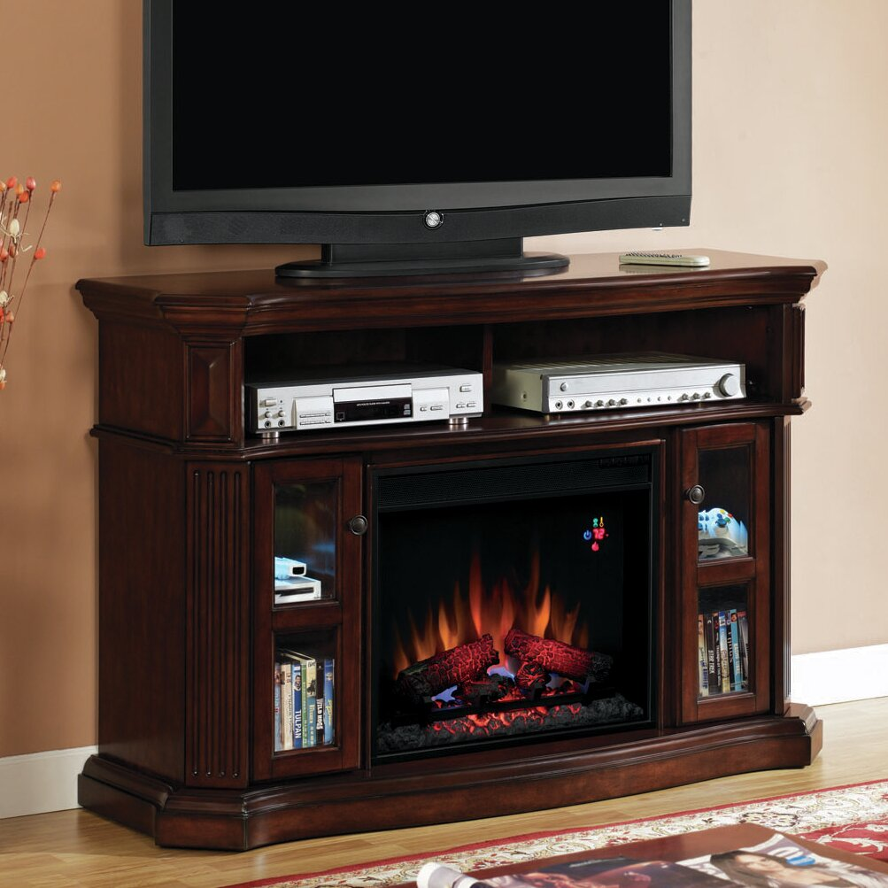 Classic Flame Aberdeen Tv Stand With Electric Fireplace Reviews Wayfair