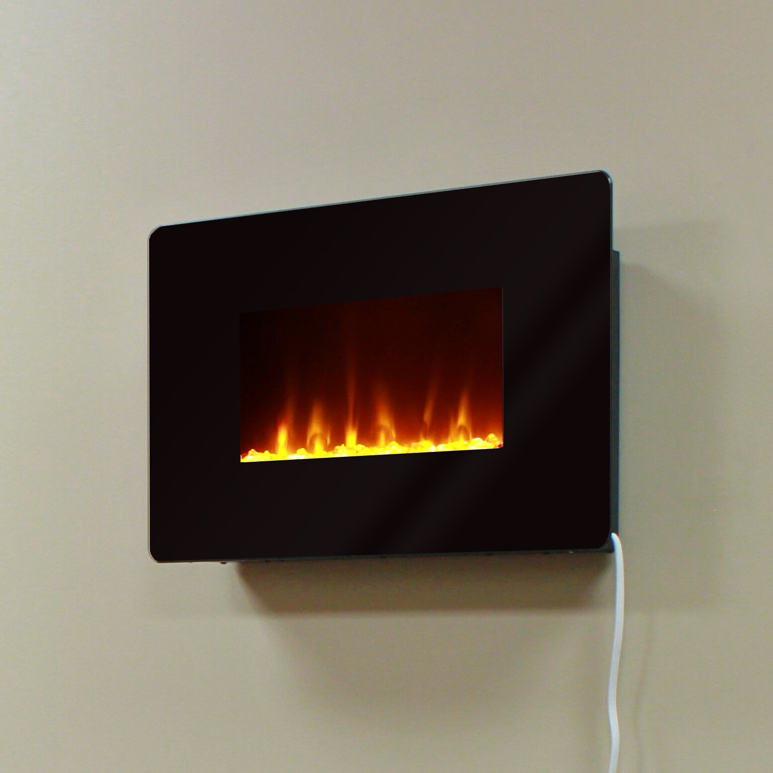 Muskoka Wall Mount Electric Fireplace Reviews Wayfair