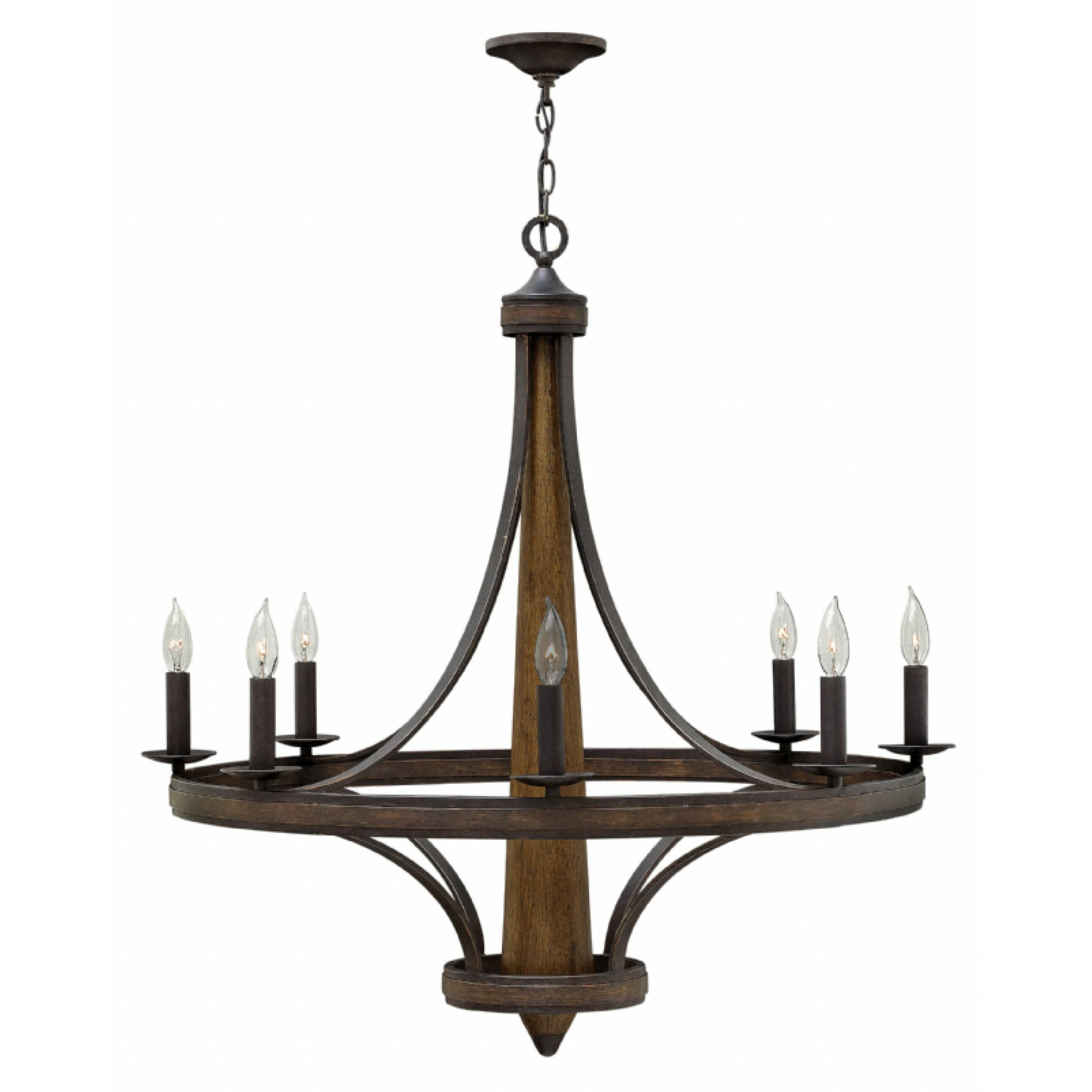 Fredrick Ramond Bastille 8 Light Candle Chandelier