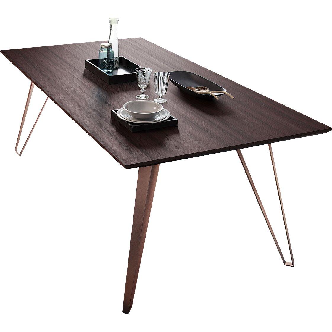 modloft grand dining table wayfair. Black Bedroom Furniture Sets. Home Design Ideas