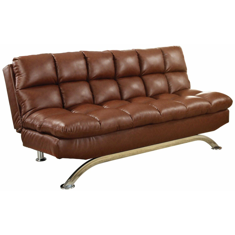 Hokku designs aristo sleeper sofa reviews wayfair for Sofa convertible 2 places