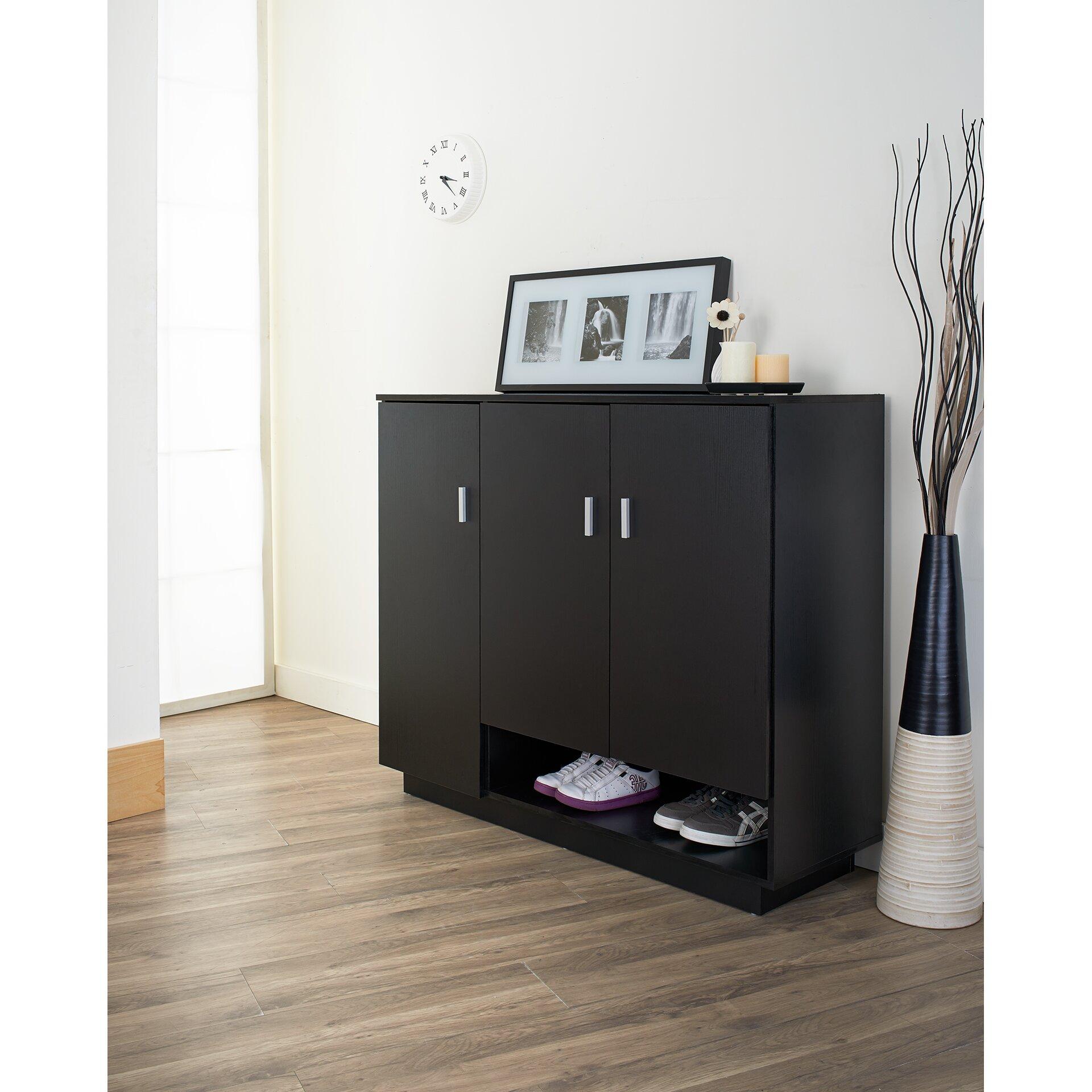 Hokku Designs Dominica 15 Pair Shoe Storage Cabinet Reviews