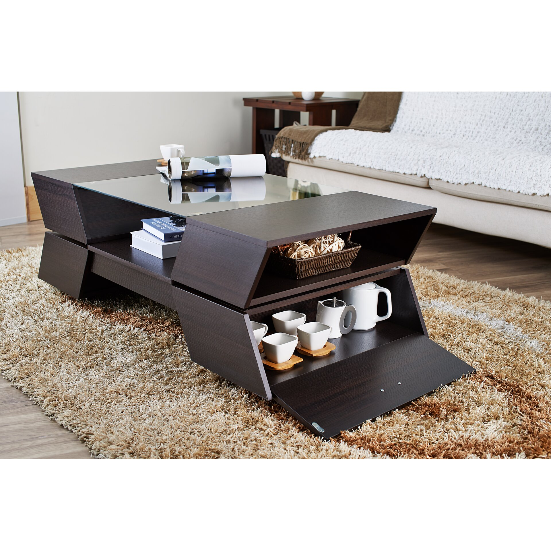Hokku Designs Matias Coffee Table Reviews Wayfair