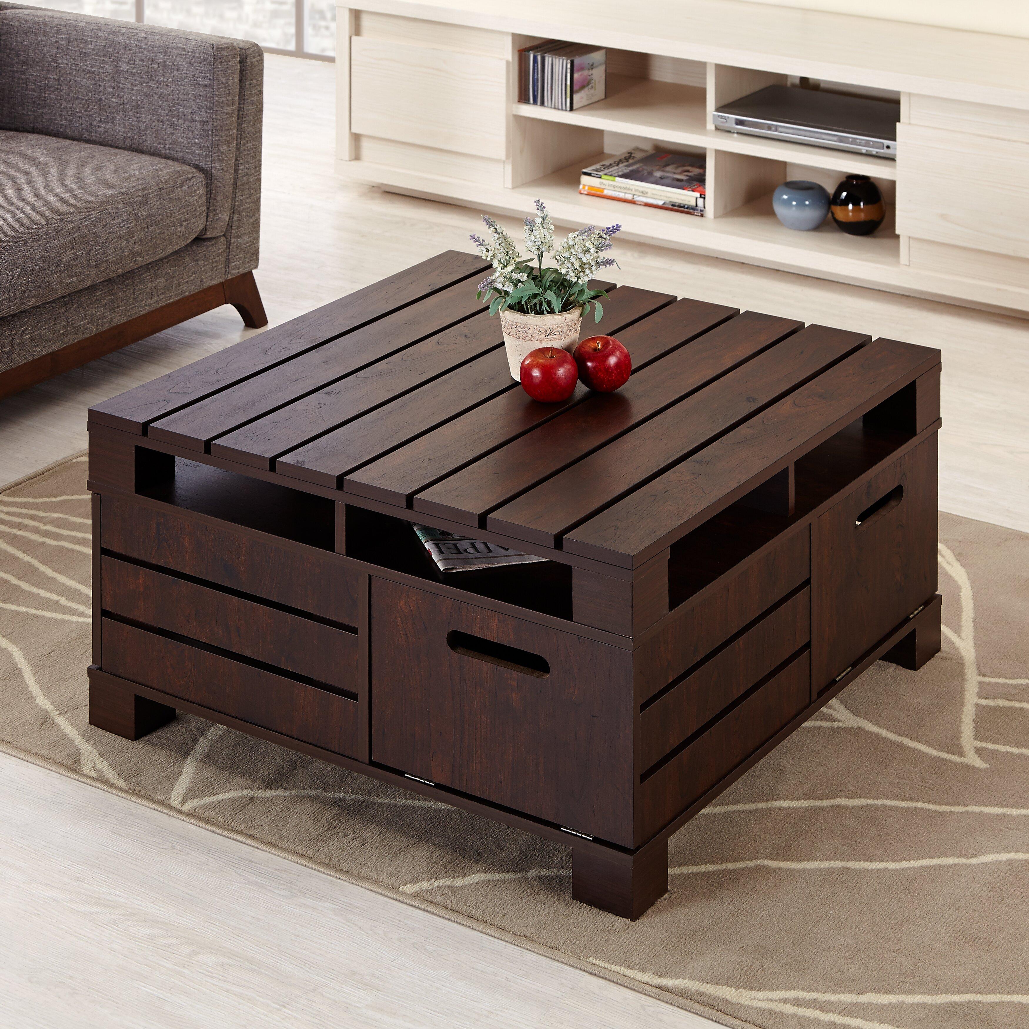 Hokku Designs Pallet Coffee Table & Reviews