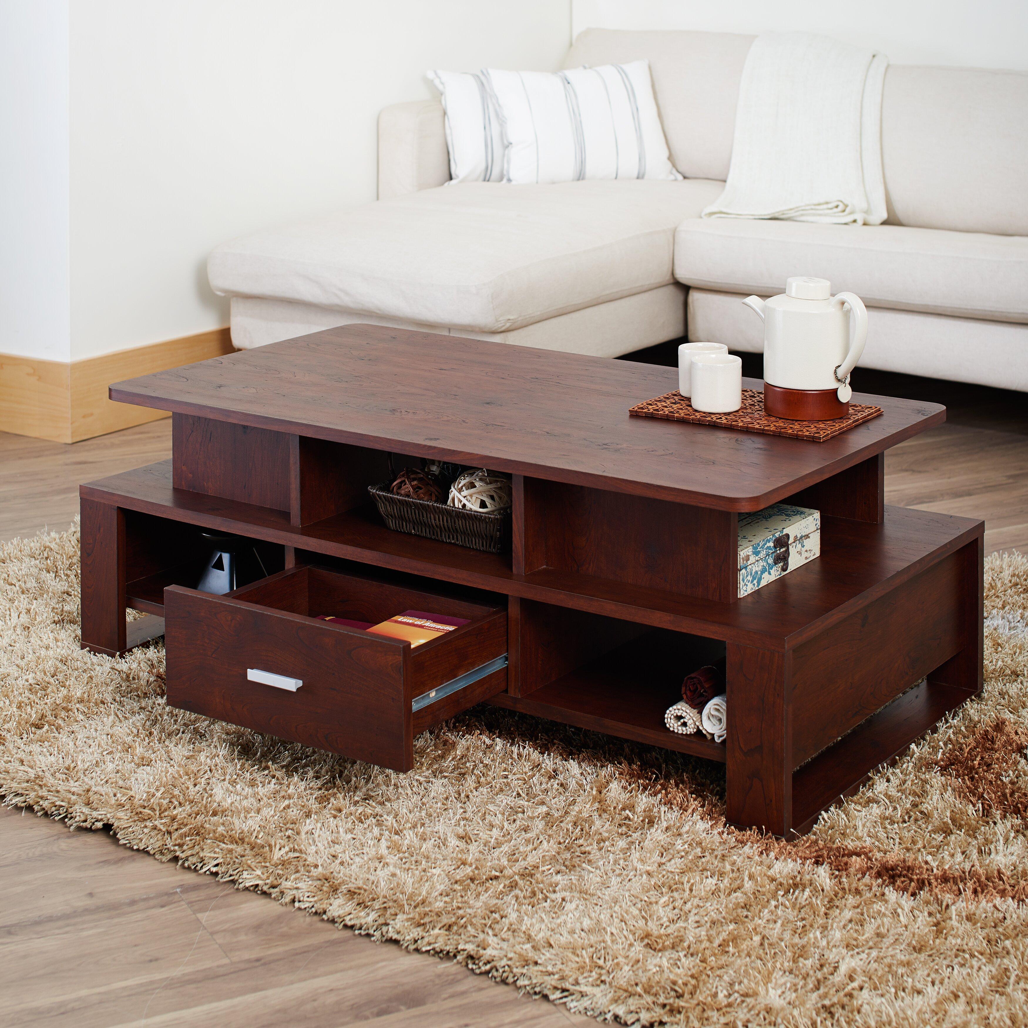 Hokku Designs Alexzana Coffee Table Reviews Wayfair