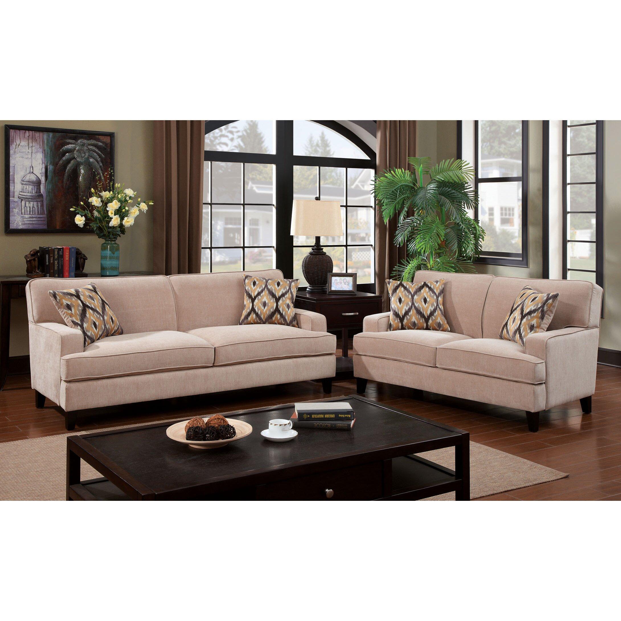 Hokku designs leyna modern standard sofa reviews wayfair for Hokku designs living room furniture
