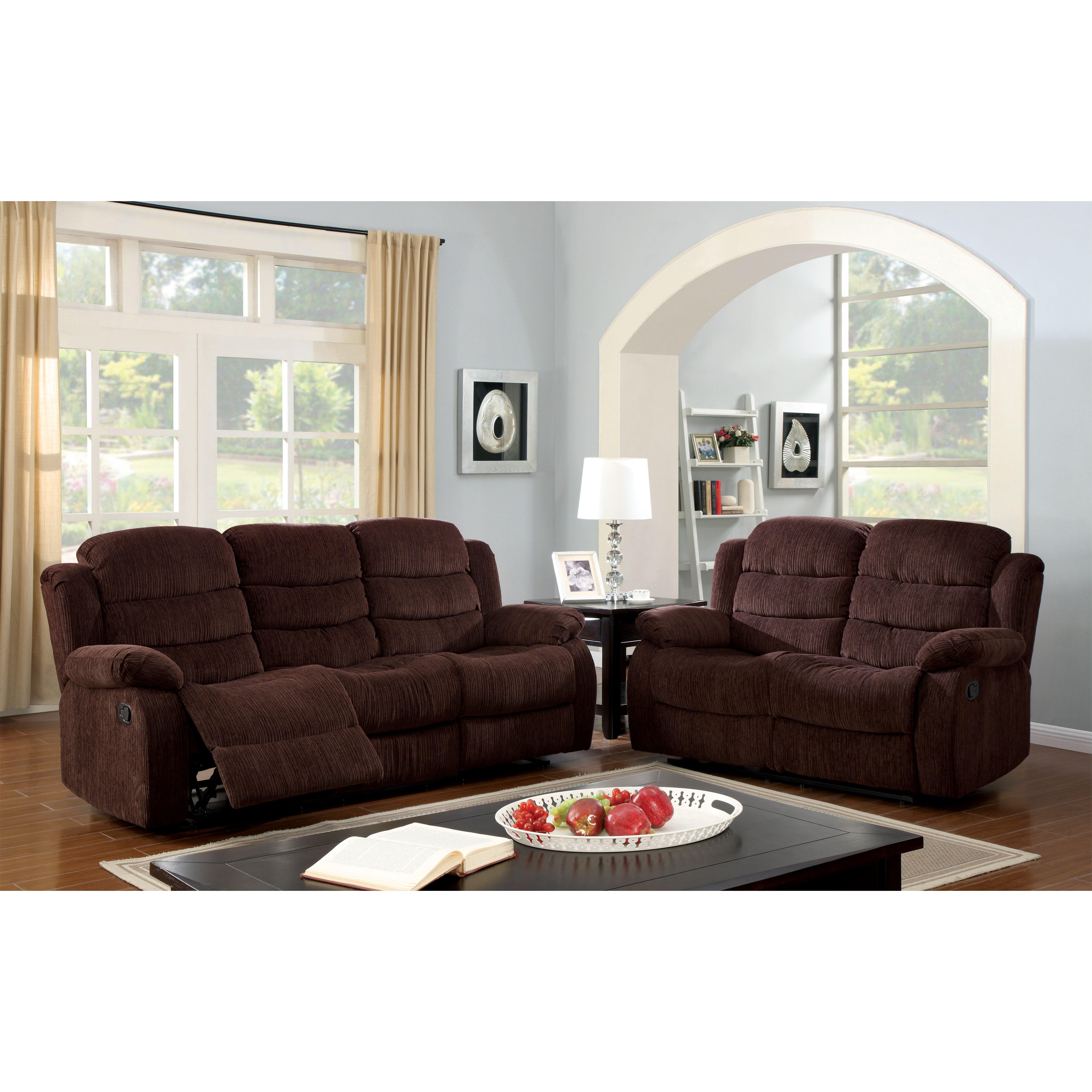 Hokku designs fergstein reclining loveseat reviews wayfair for Hokku designs living room furniture