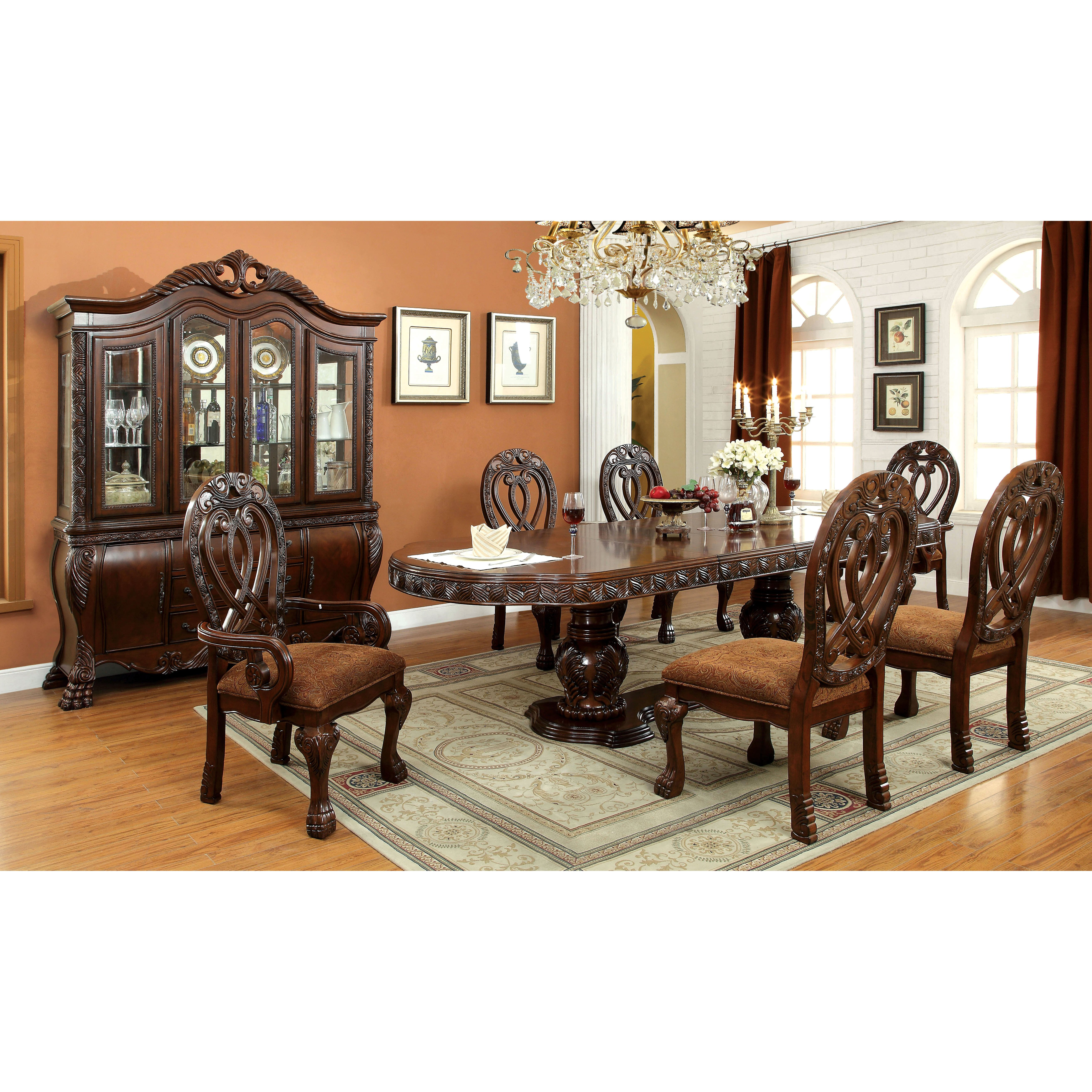 Hokku designs dolores 7 piece dining set reviews wayfair for Hokku designs dining room furniture
