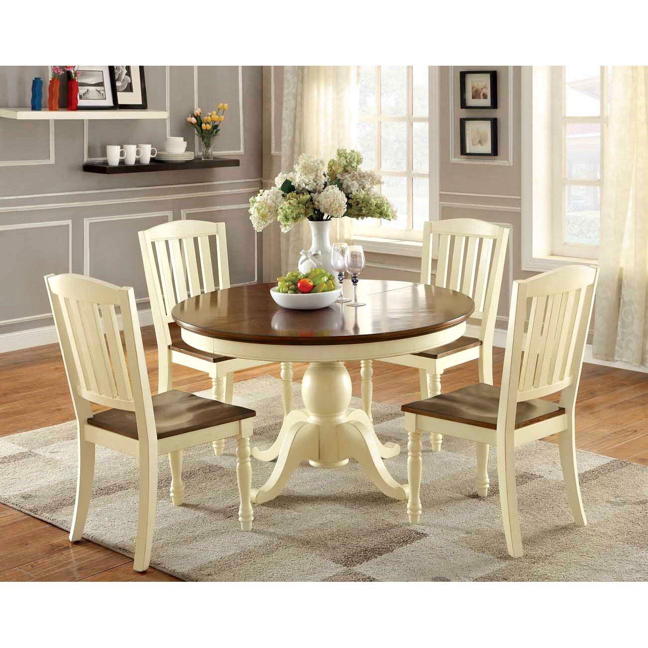 Hokku designs laureus 5 piece dining set reviews wayfair for Hokku designs dining room furniture