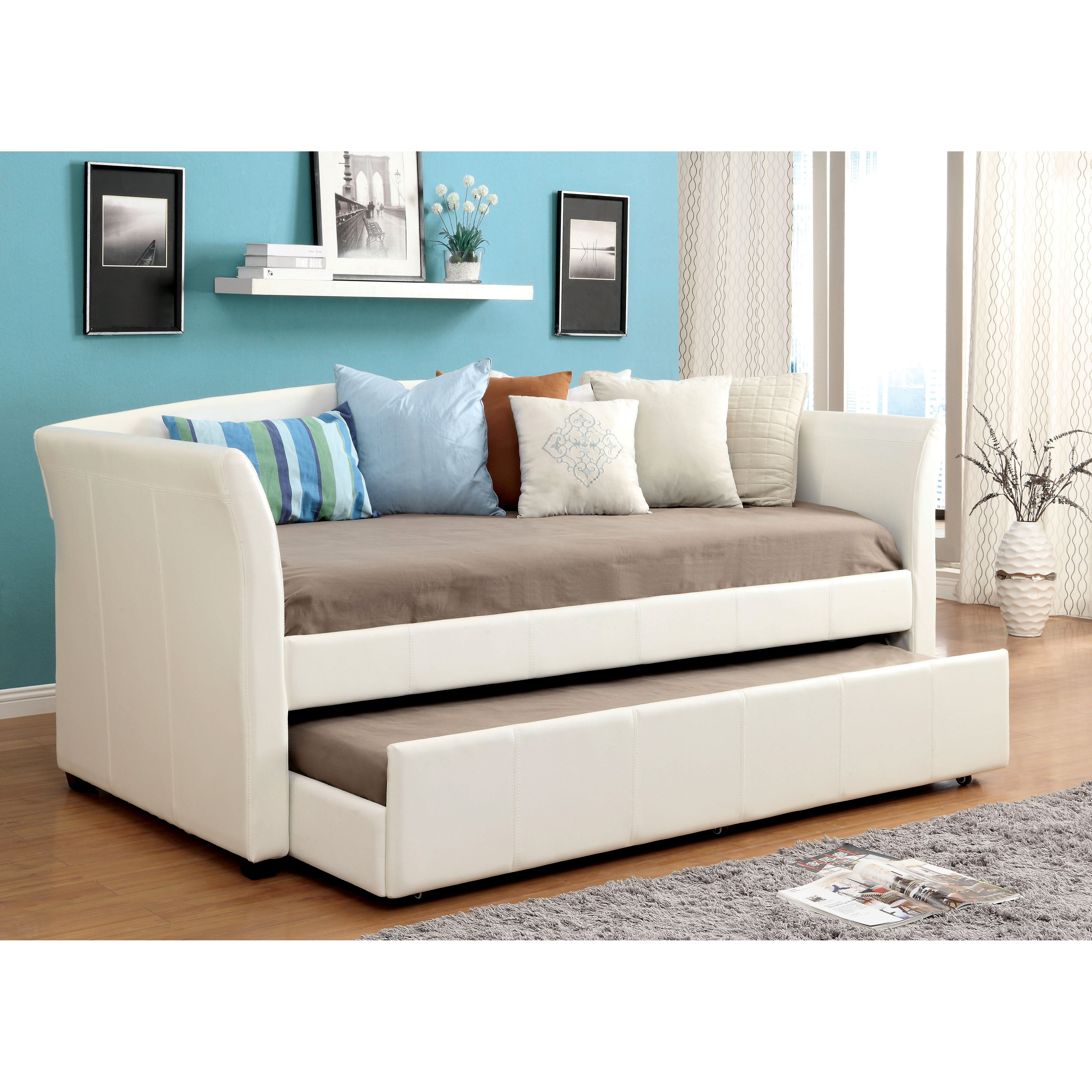 Hokku Designs Roma Daybed With Trundle Reviews Wayfair